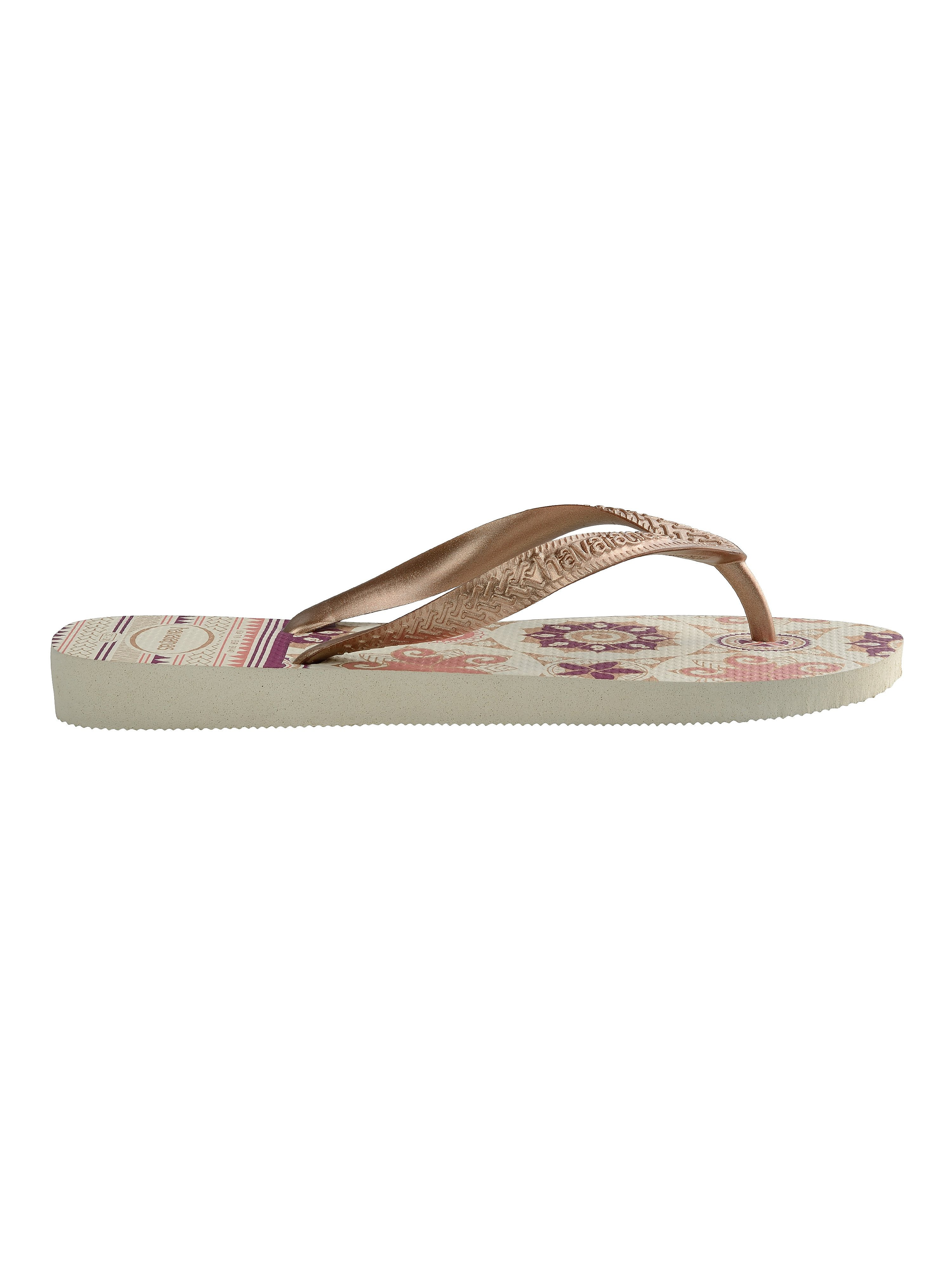 Havaianas Women's Spring Flip Flop - White/Rose Gold