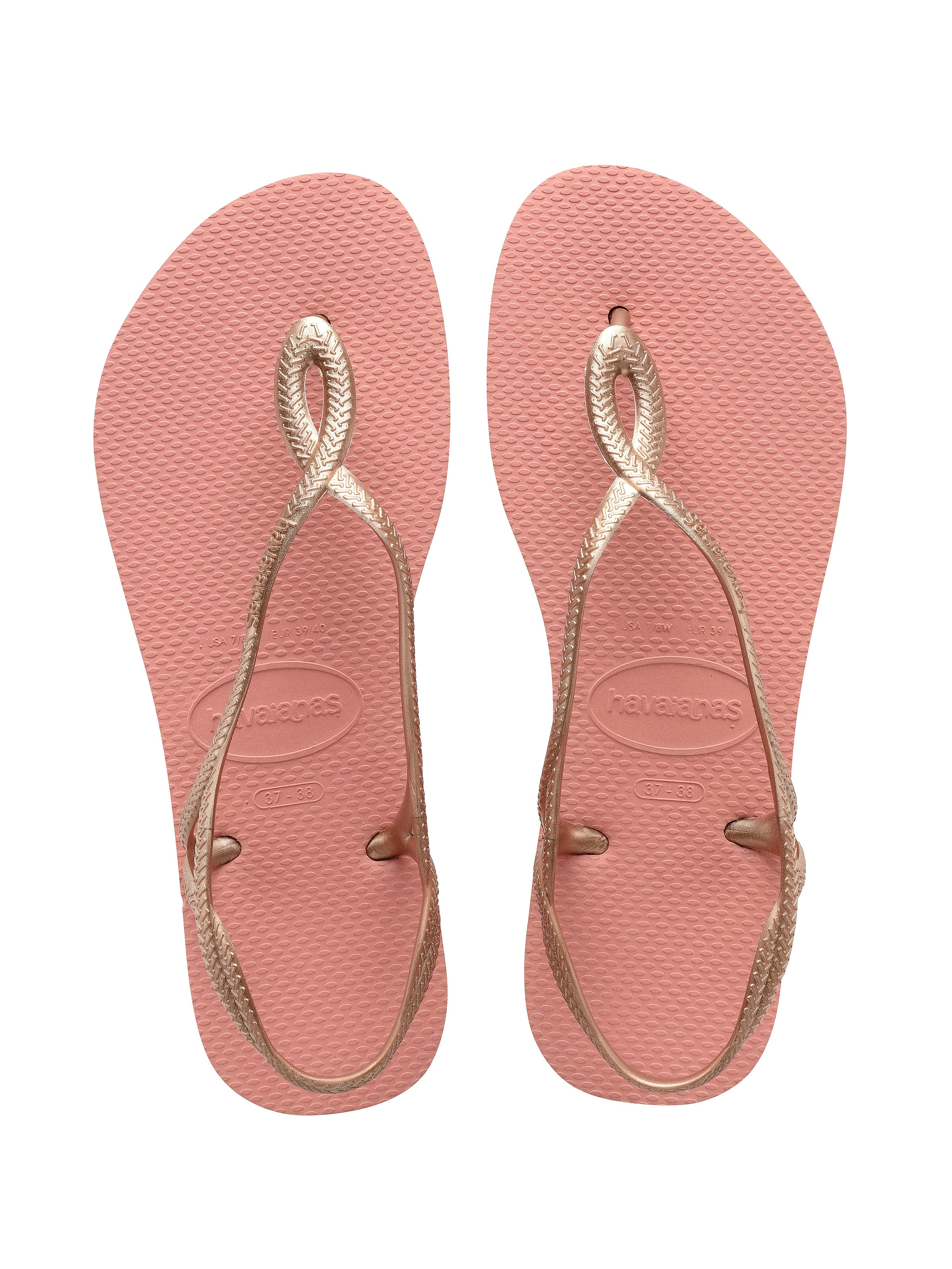 Havaianas Women's Luna Flip Flops - Light Rose