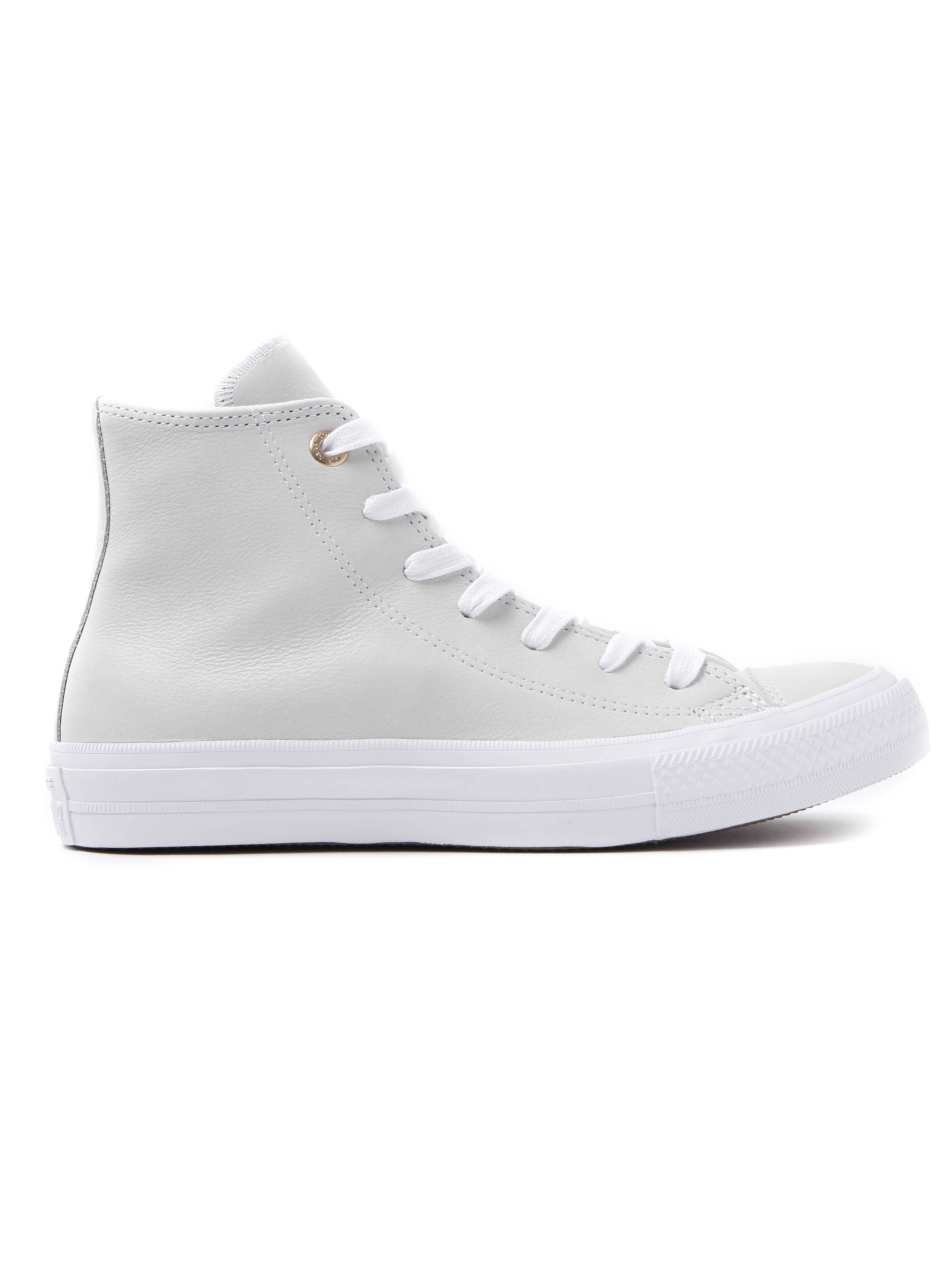 Converse Women's Chuck Taylor All Star II HI Trainers - White Leather