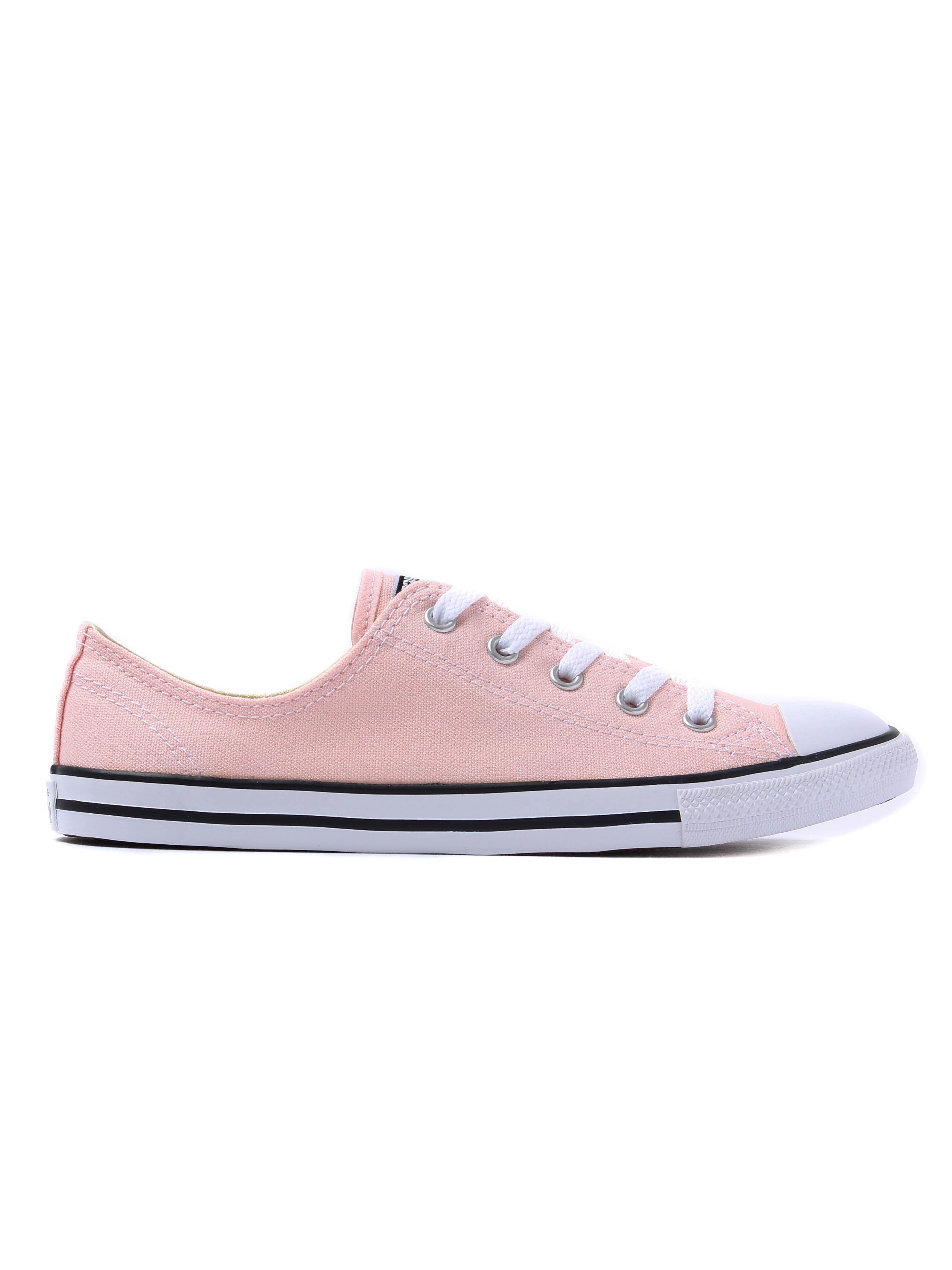 Converse Women's Chuck Taylor All Star Dainty OX Canvas Trainers - Vapor Pink