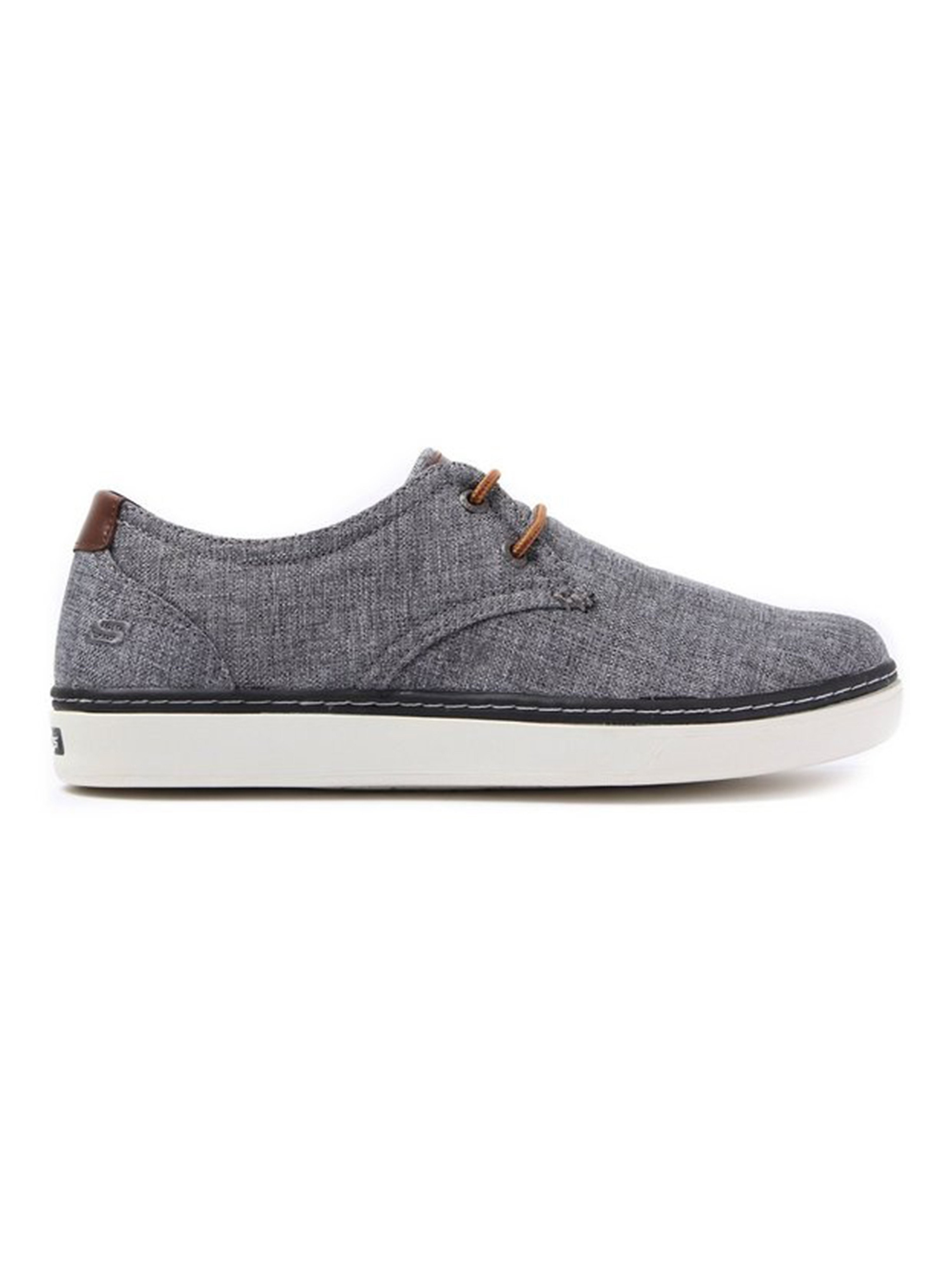 Skechers Men's Palen Gadon Oxford Trainers - Grey