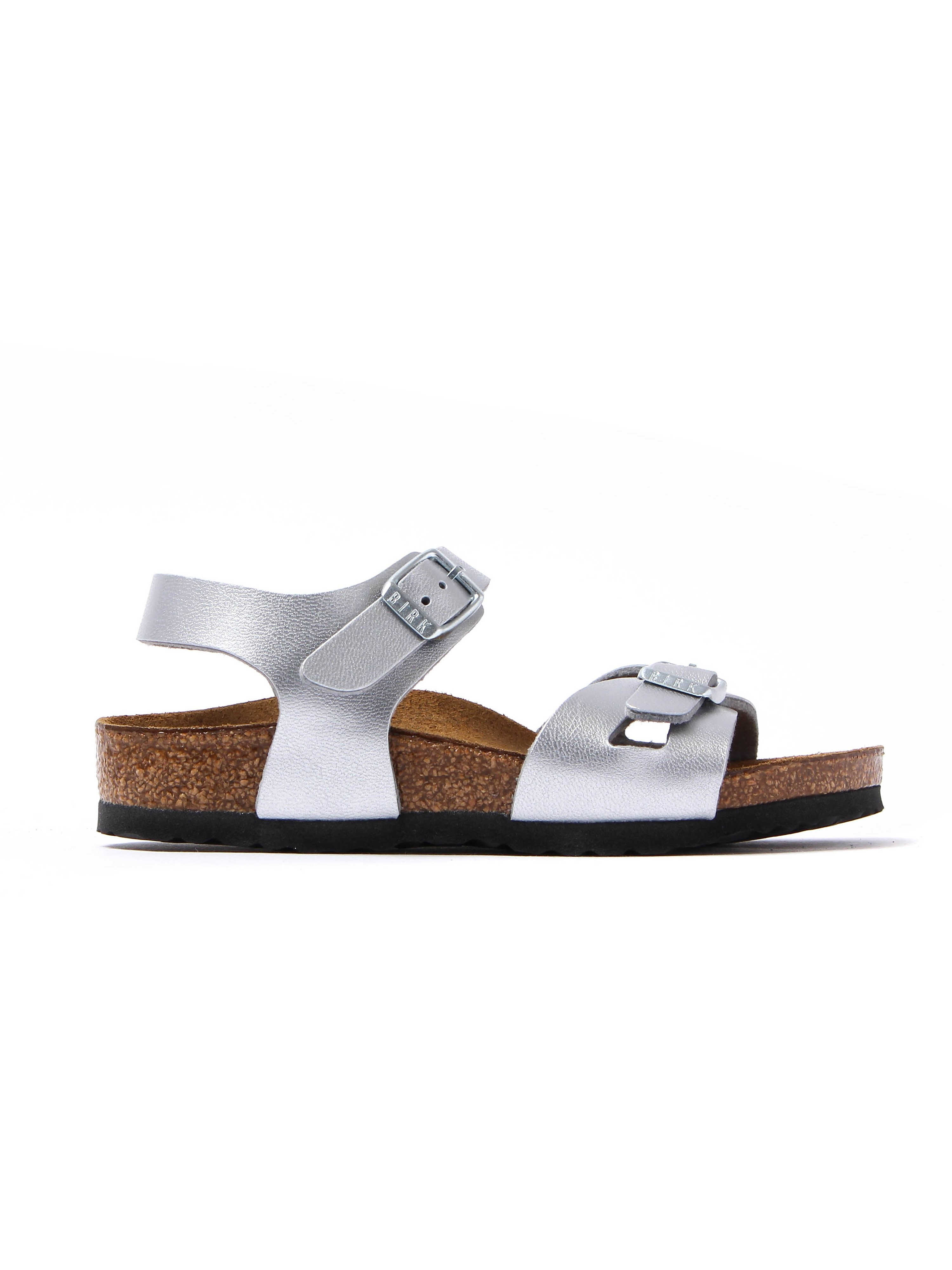 Birkenstock Infant Rio Narrow Fit Sandals - Silver