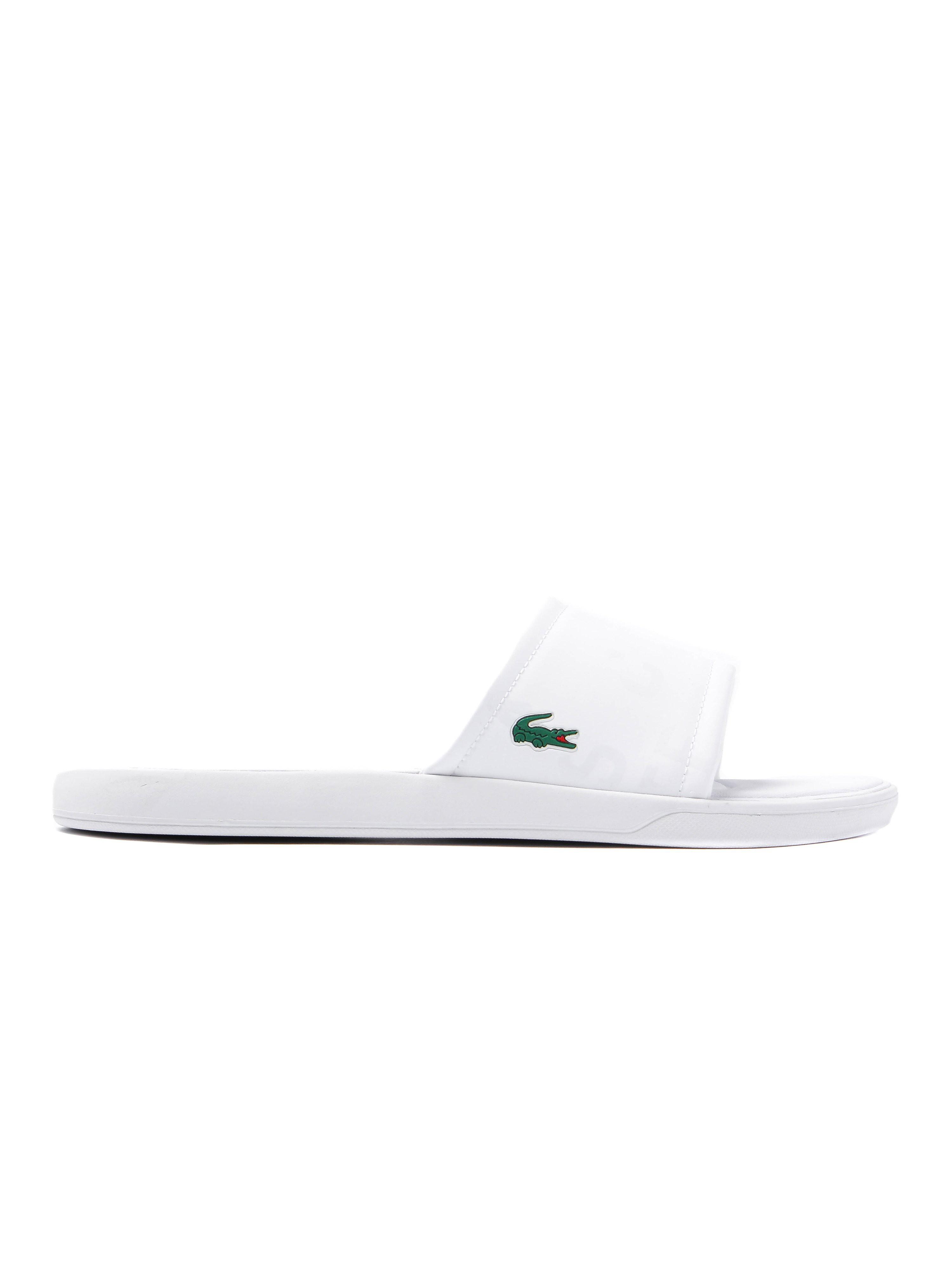 Lacoste Women's L.30 Slide 217 Padded Sandals - White