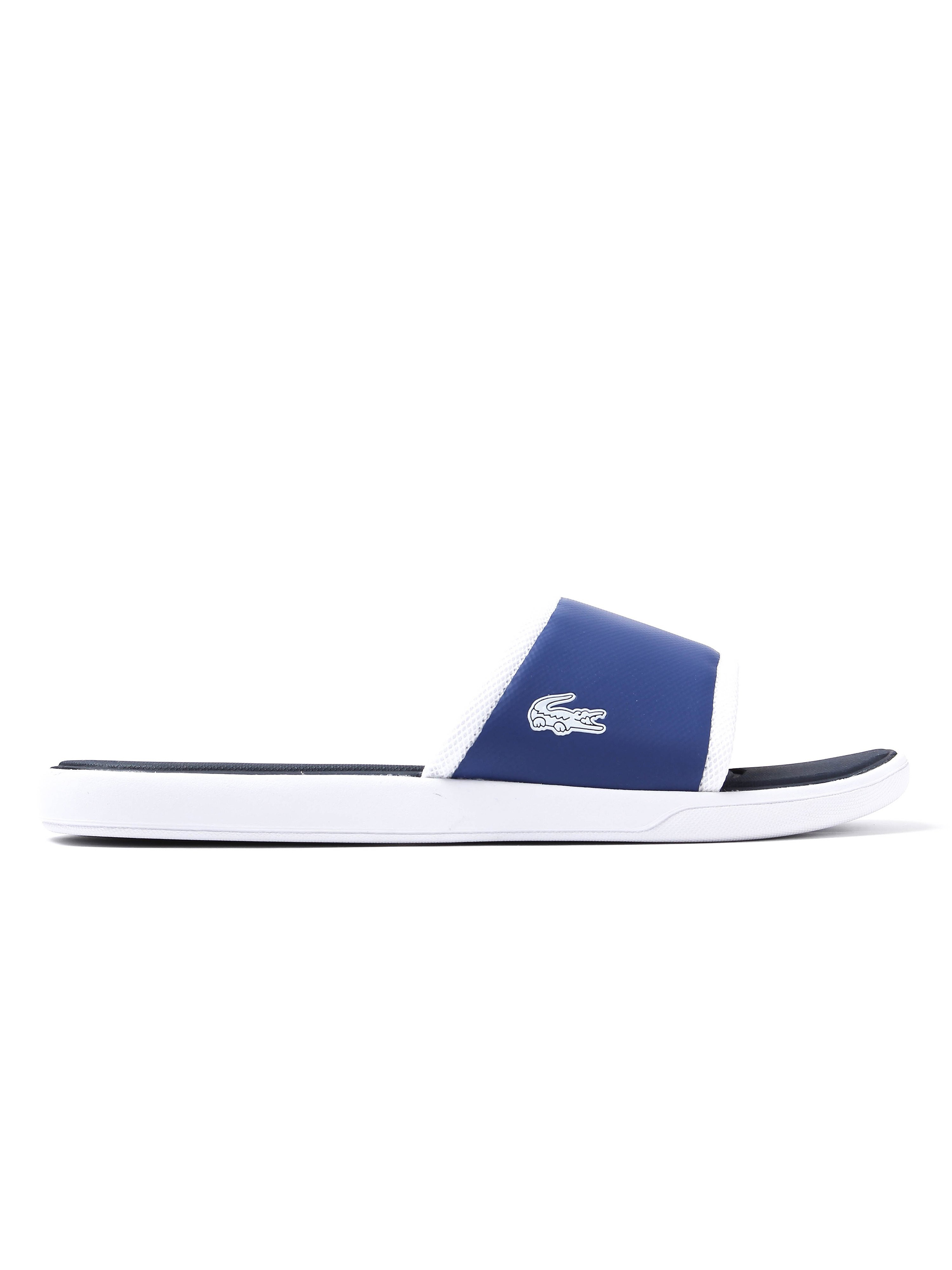 Lacoste Men's L.30 Sport Slide Sandals - Dark Blue