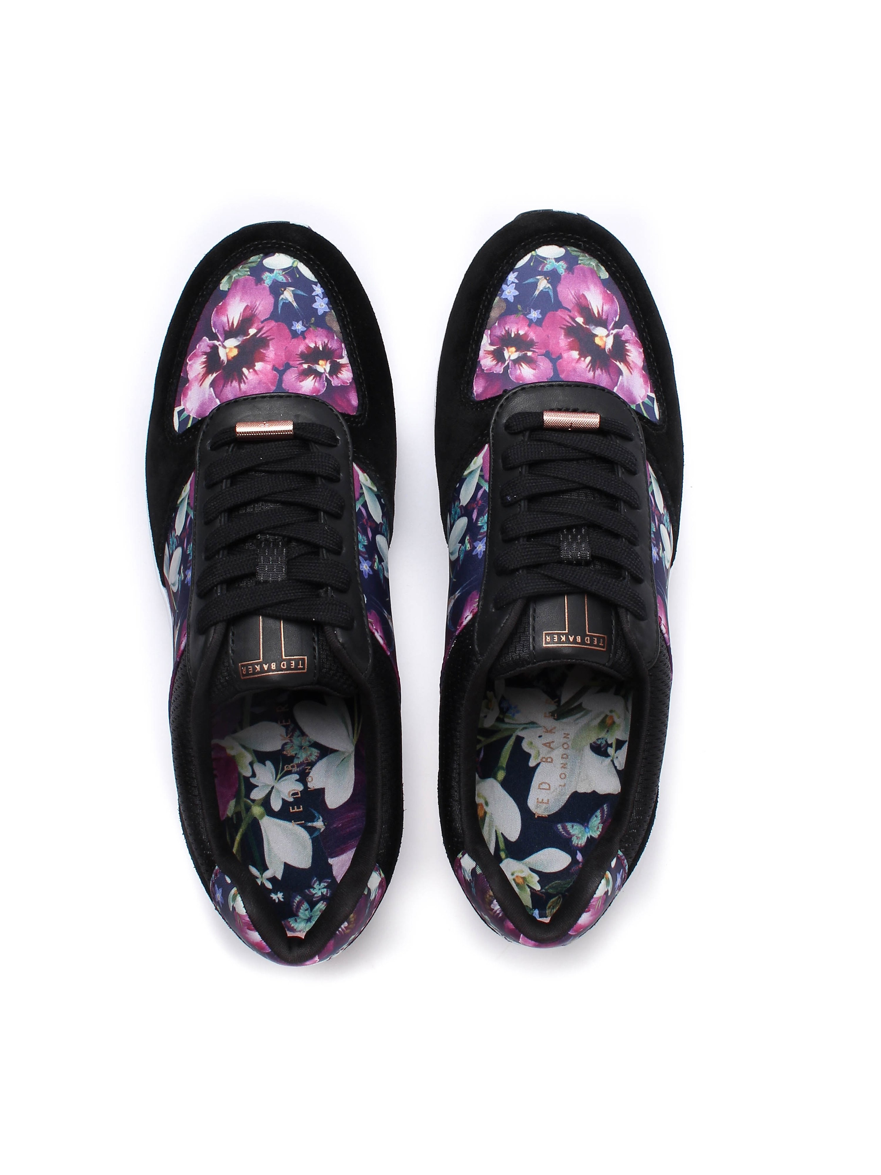 Ted Baker Women's Esmay Entangled Enchantment Trainers - Black
