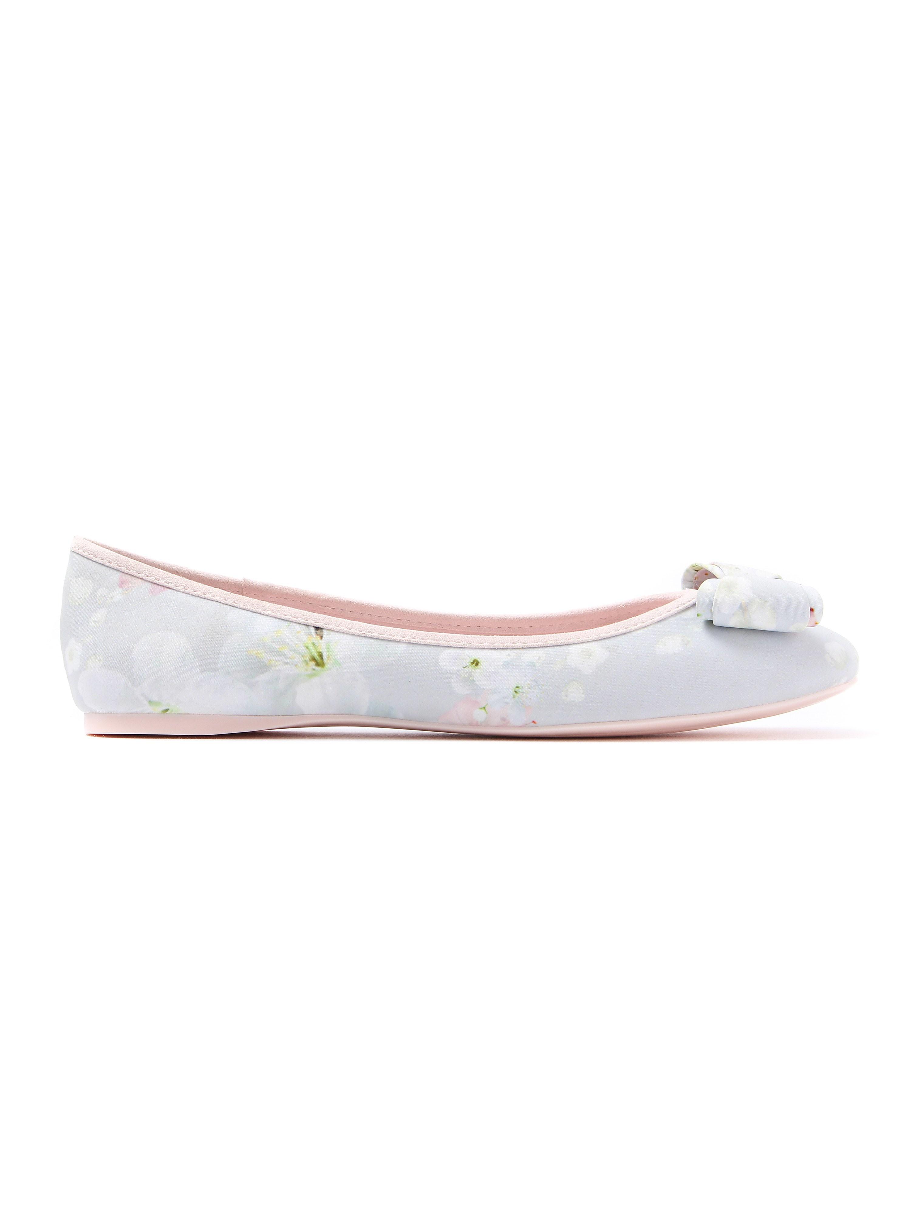 Ted Baker Women's Immep Oriental Blossom Ballerina Shoes - White