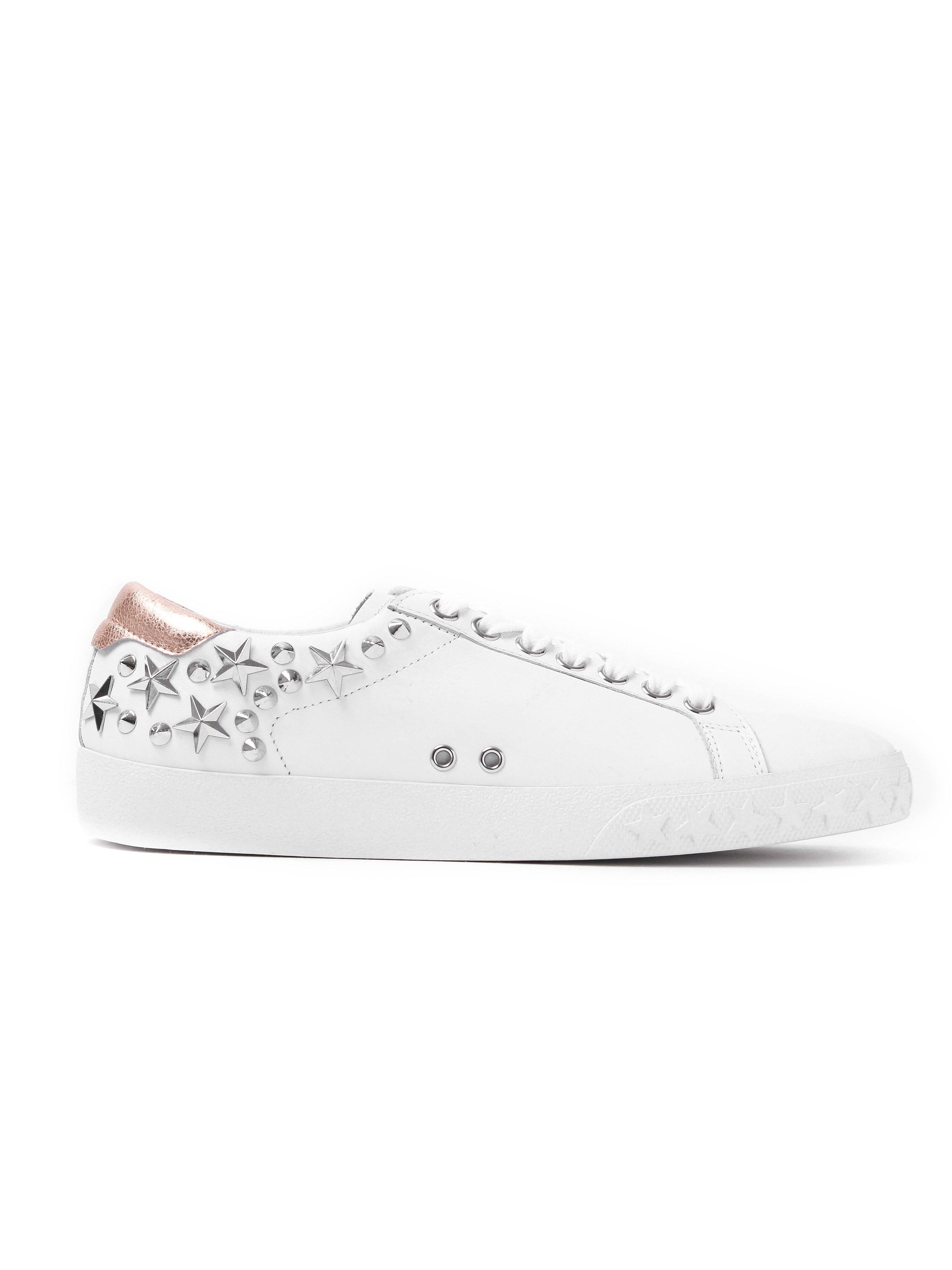 Ash Women's Dazed Leather Trainers - White