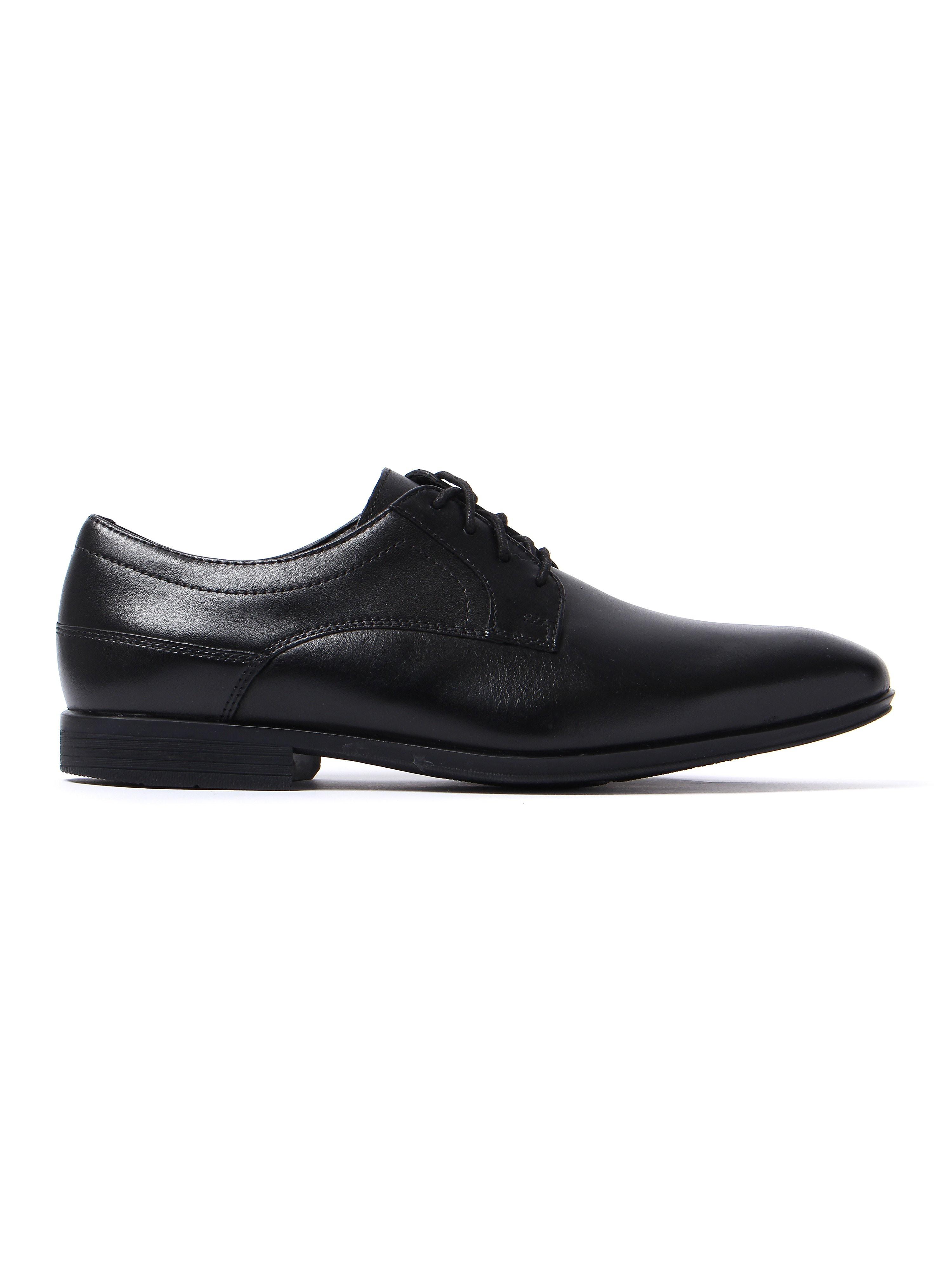 Rockport Men's Style Connected Plain Toe Derby Shoes - Black