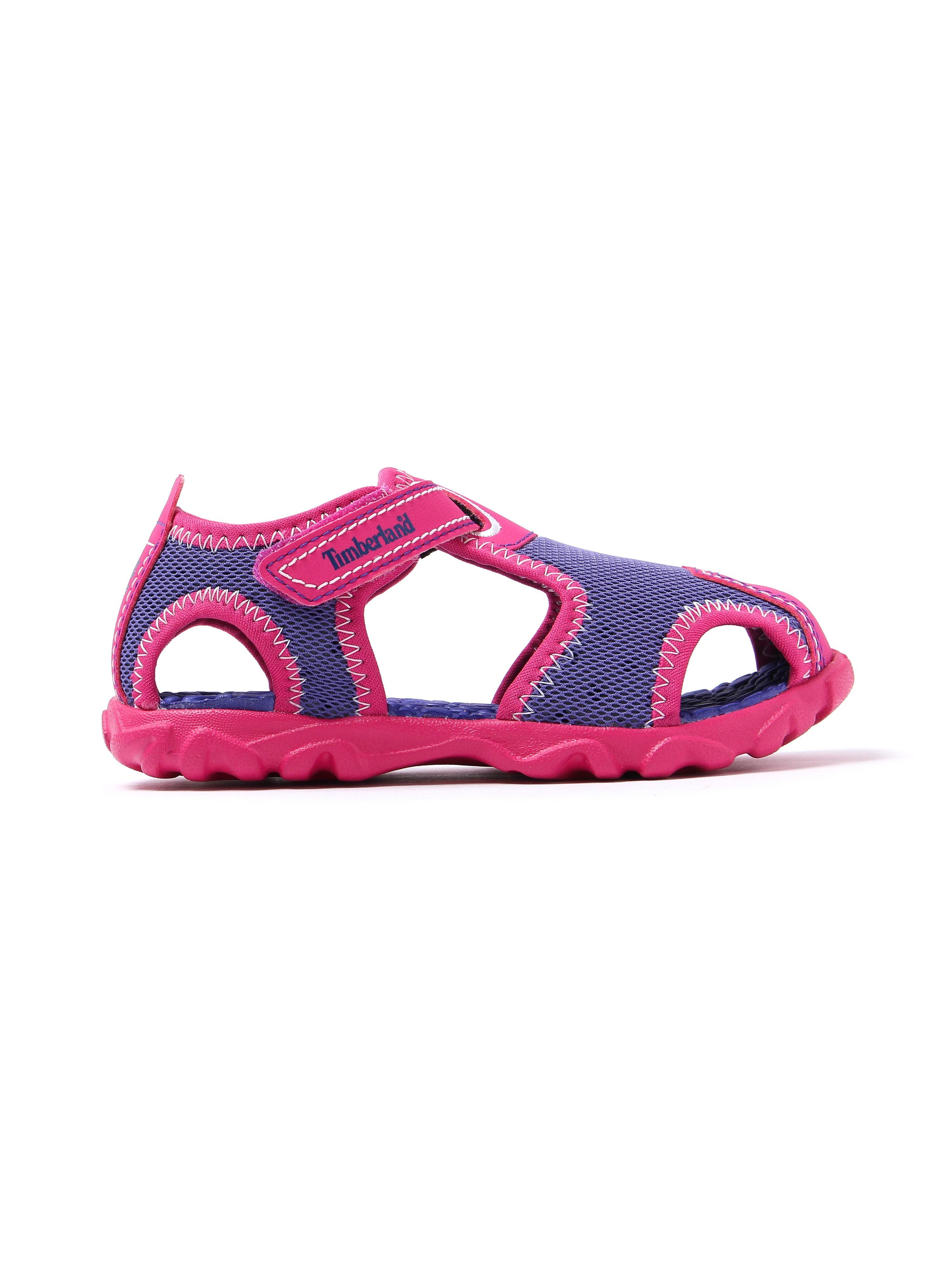 Timberland Infant Splashtown Fisherman Sandals - Purple & Pink