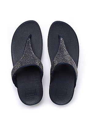 d8c72b95f ... FitFlop Women s Slinky Rokkit Toe-Post Sandals - Super Navy