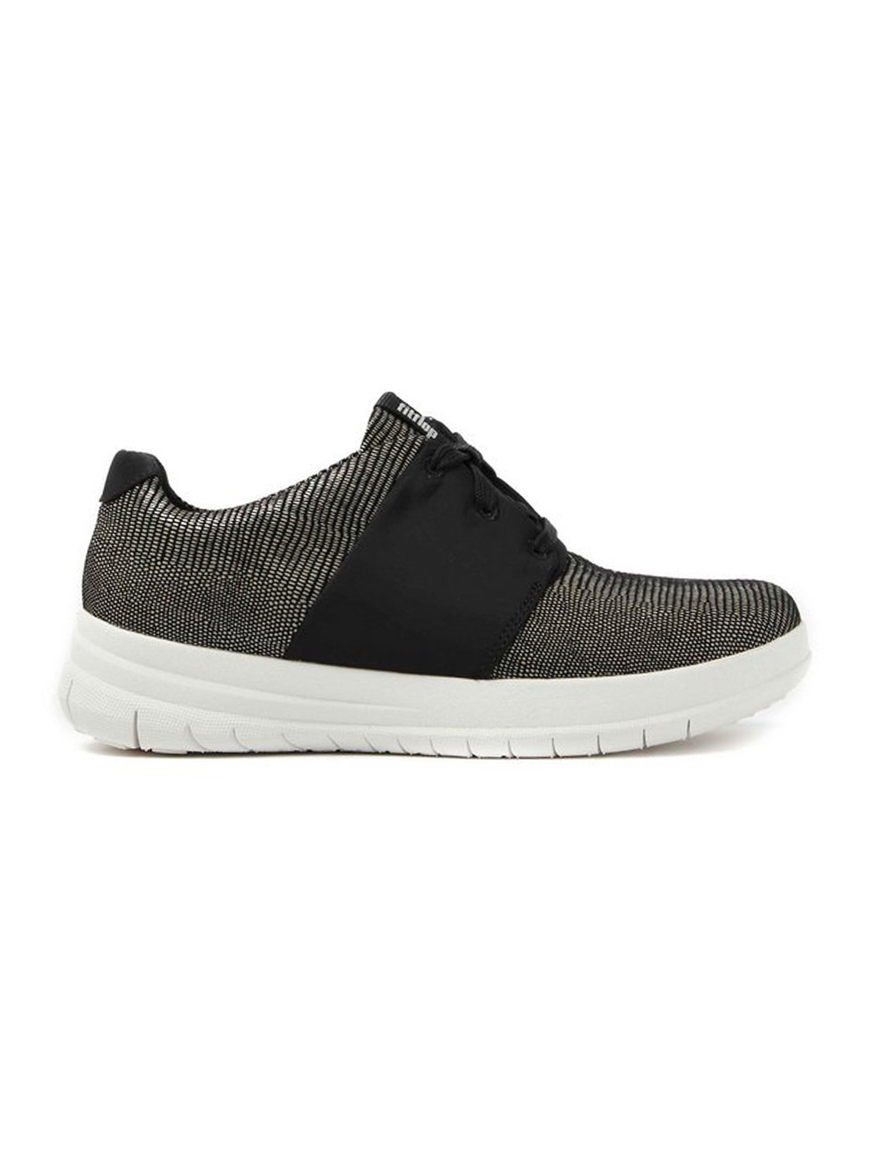 FitFlop Women's Sporty-Pop X Lizard Print Sneakers - Black