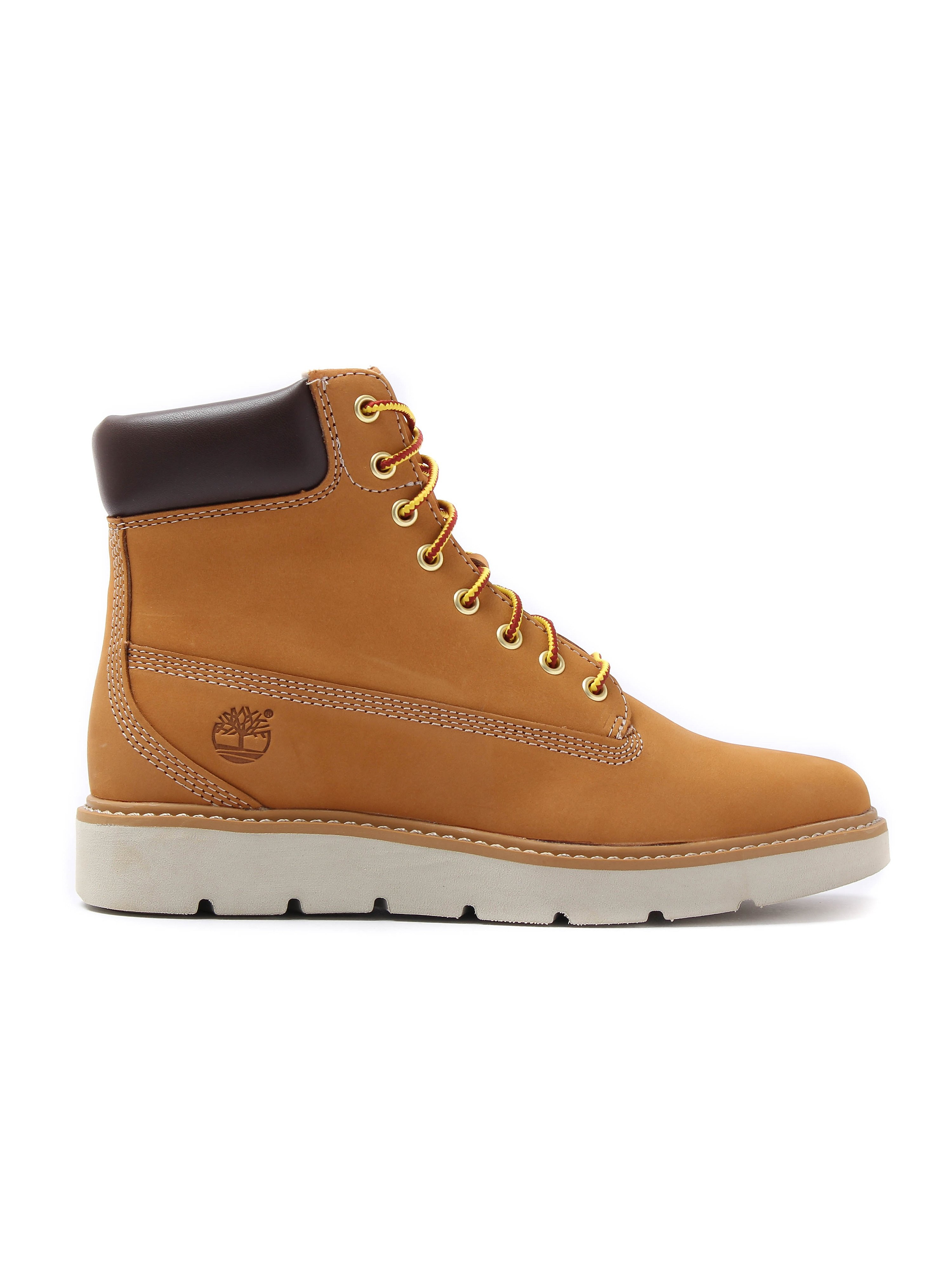 Timberland Women's Kenniston 6In Lace Up Leather Boots - Wheat