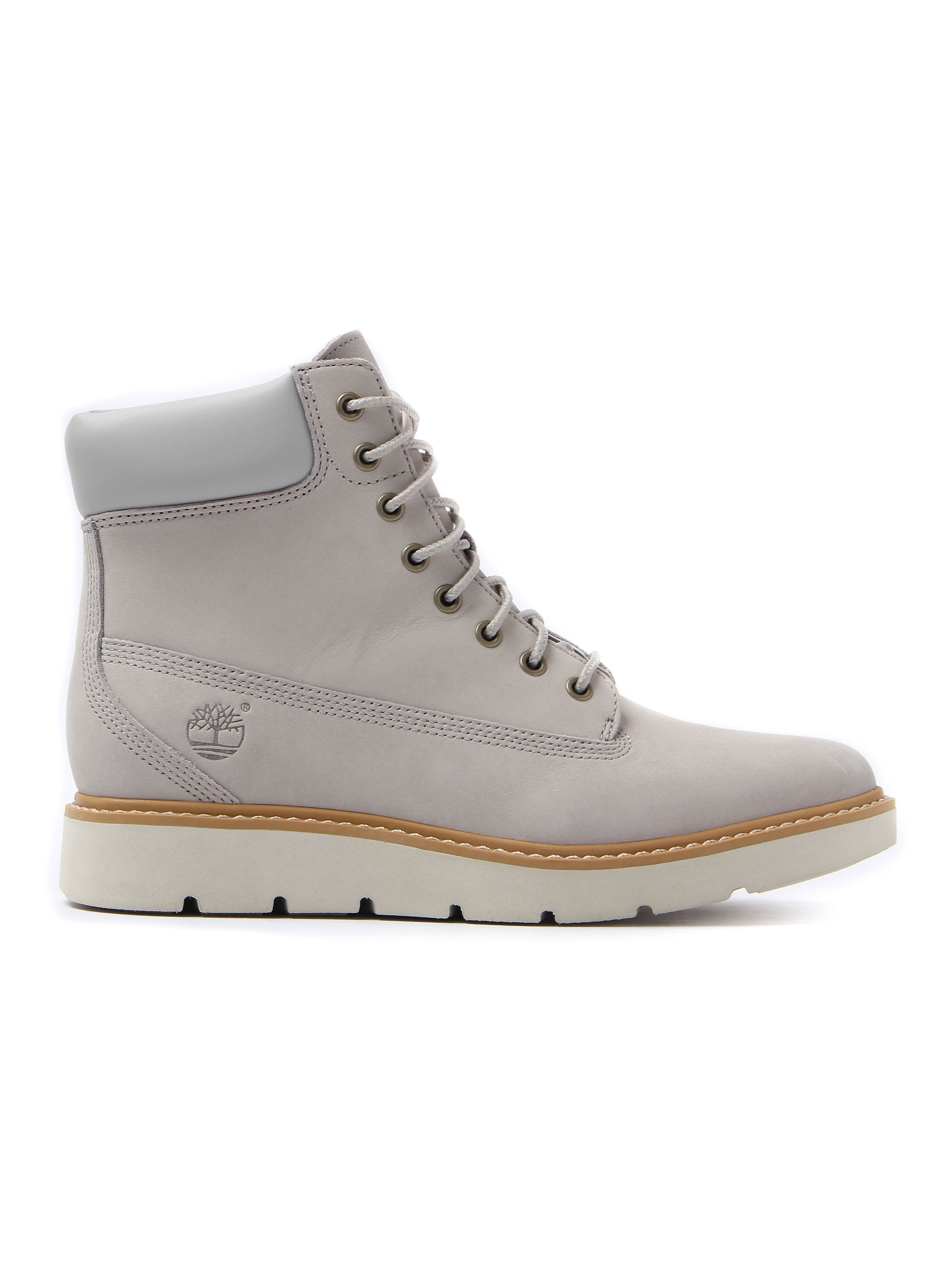 Timberland Women's Kenniston 6In Lace Up Leather Boots - Flint Grey