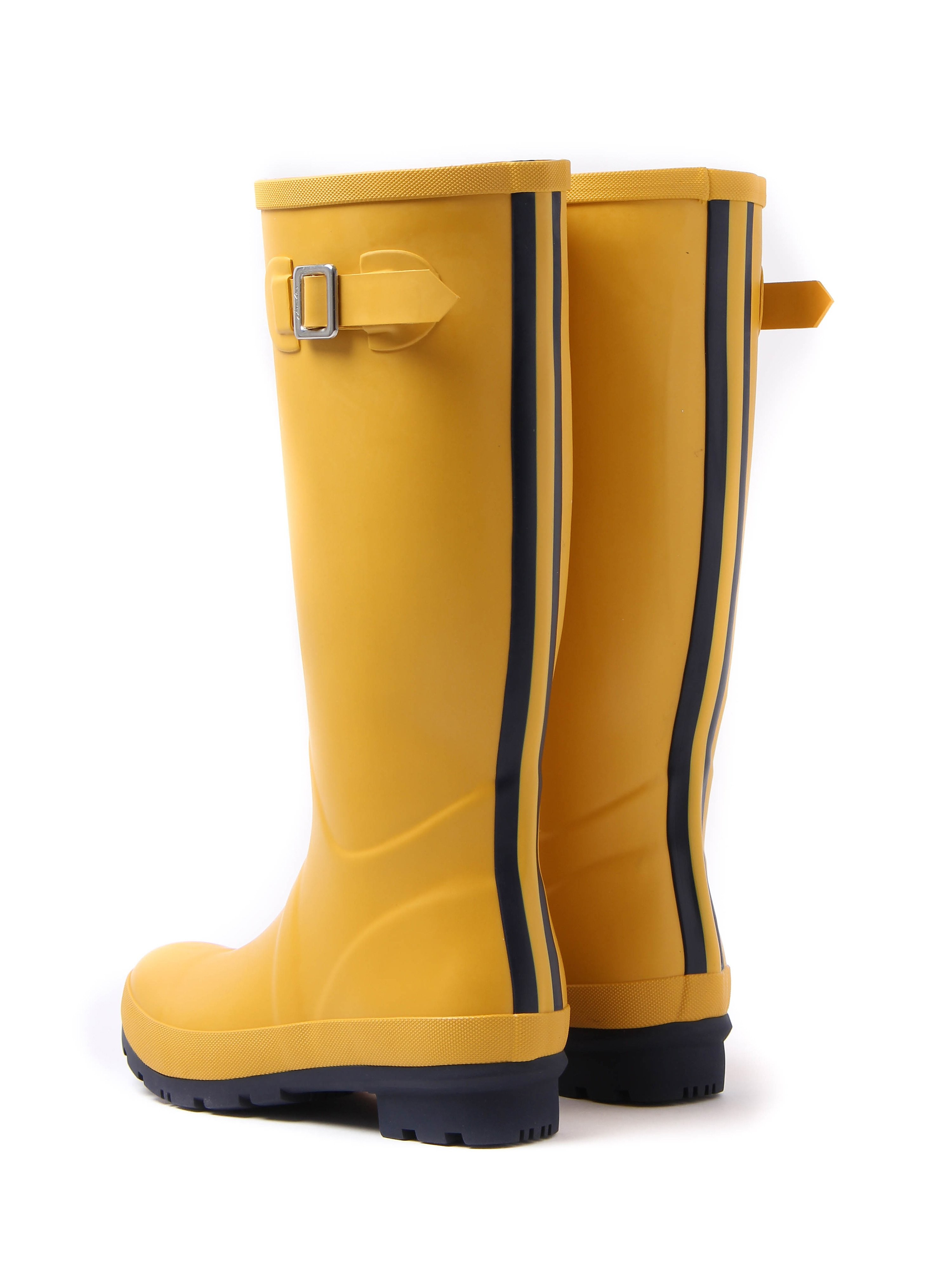 Joules Women's Fieldwelly Full Height Rubber Wellington Boot - Antgold
