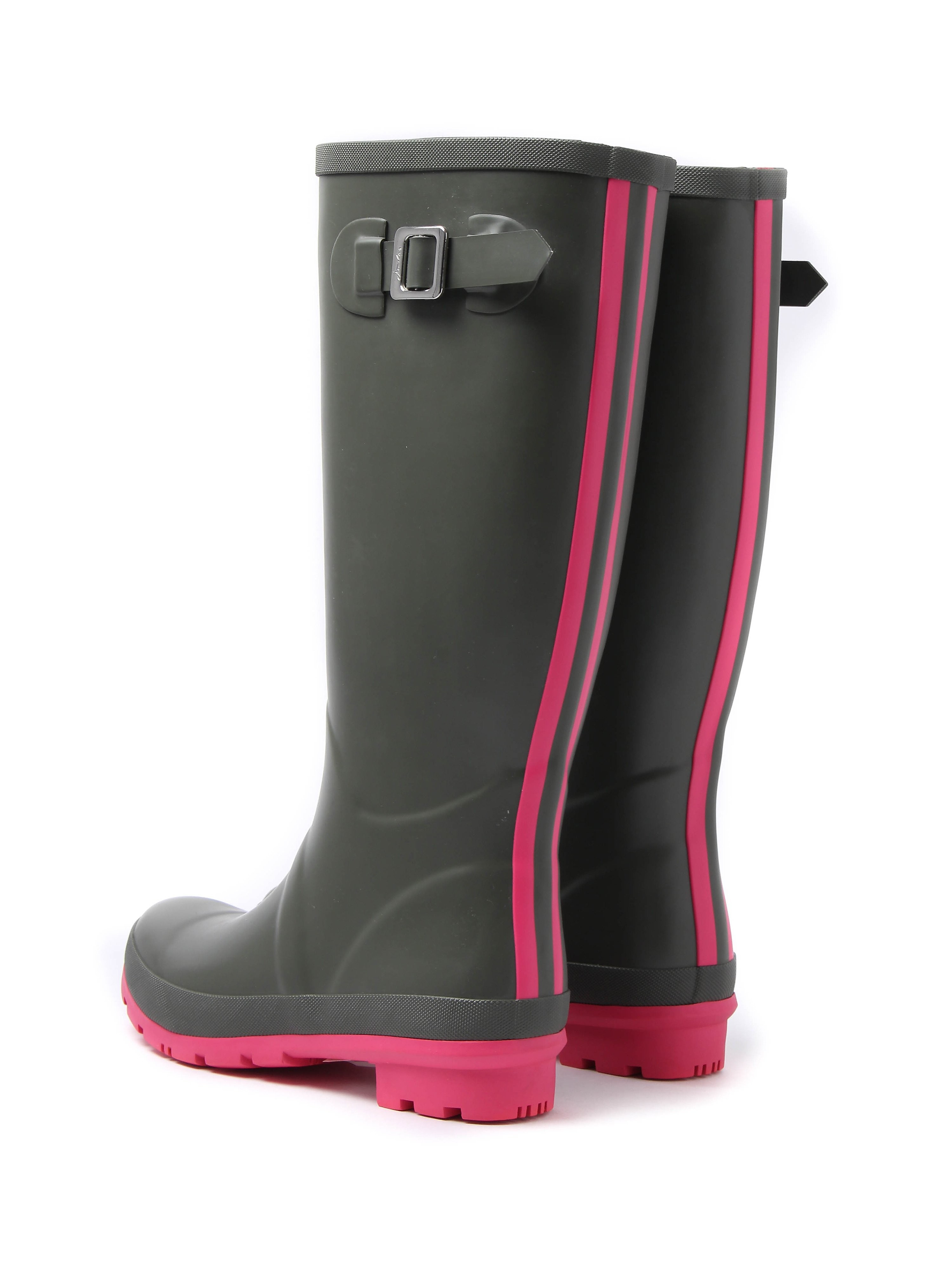 Joules Women's Field Rubber Wellington Boots - Soft Khaki
