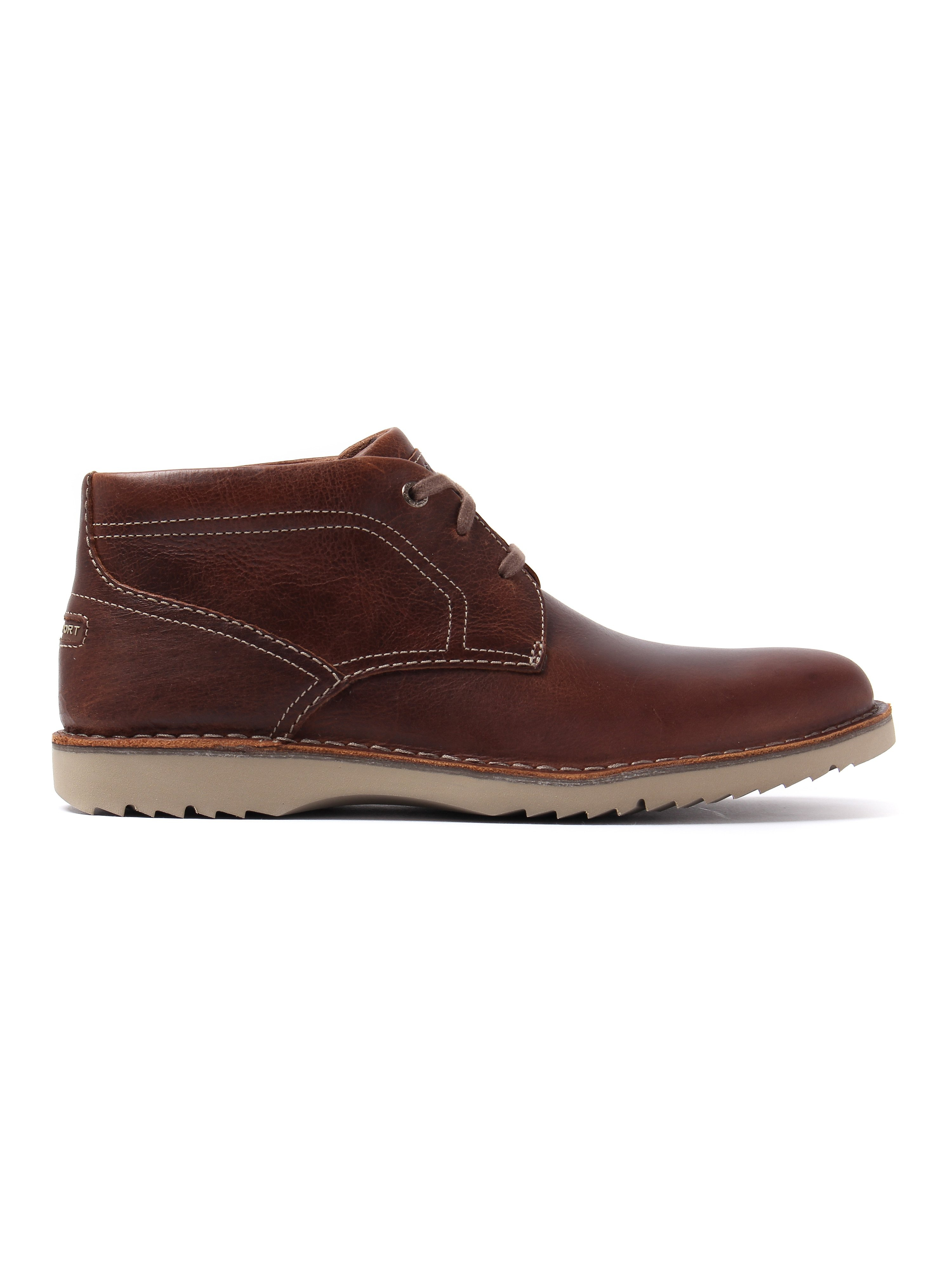 Rockport Men's Cabot Leather Chukka Boots - Brown