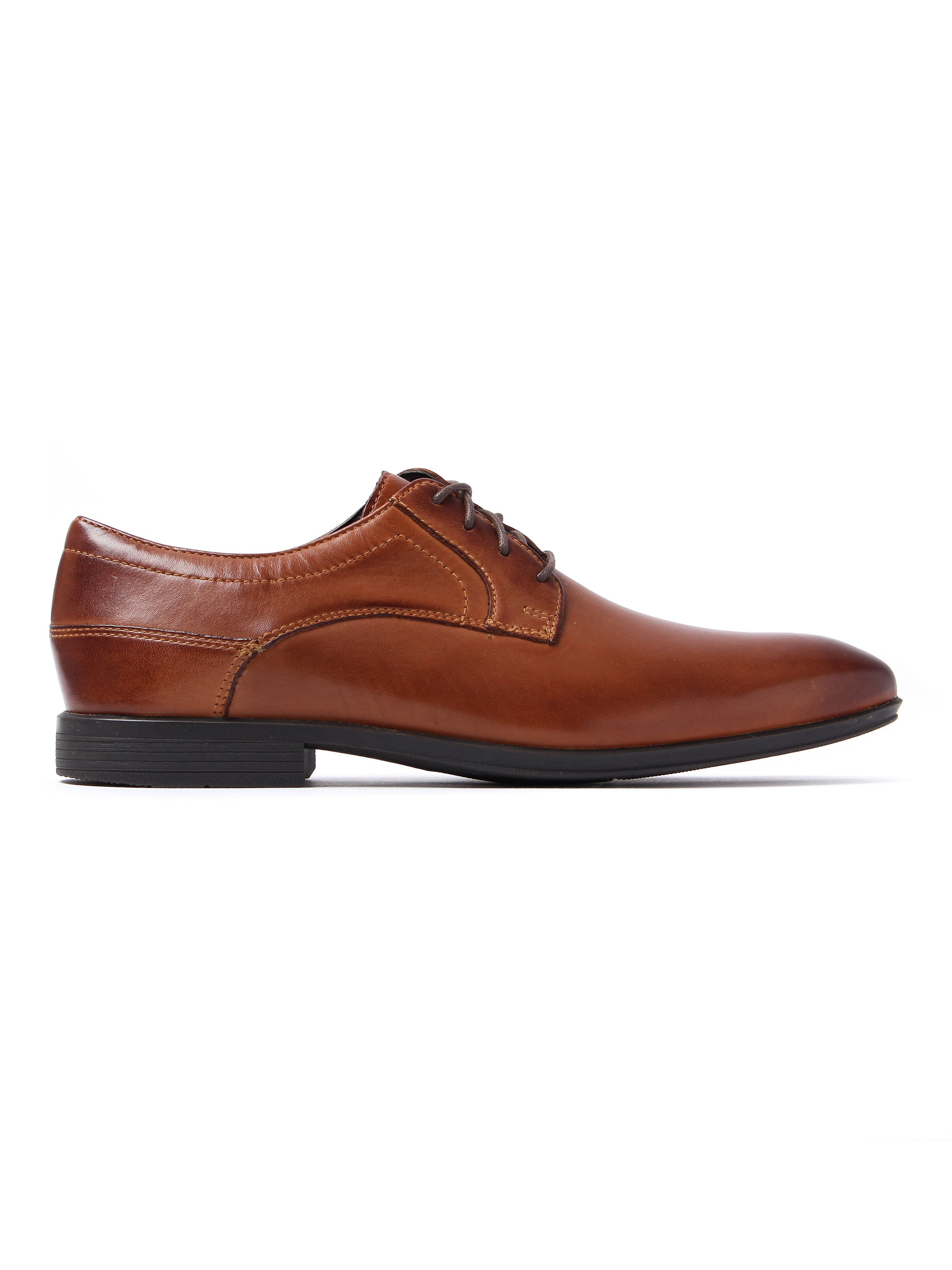 Rockport Men's Style Connected Plain Toe Derby Shoes - Brown