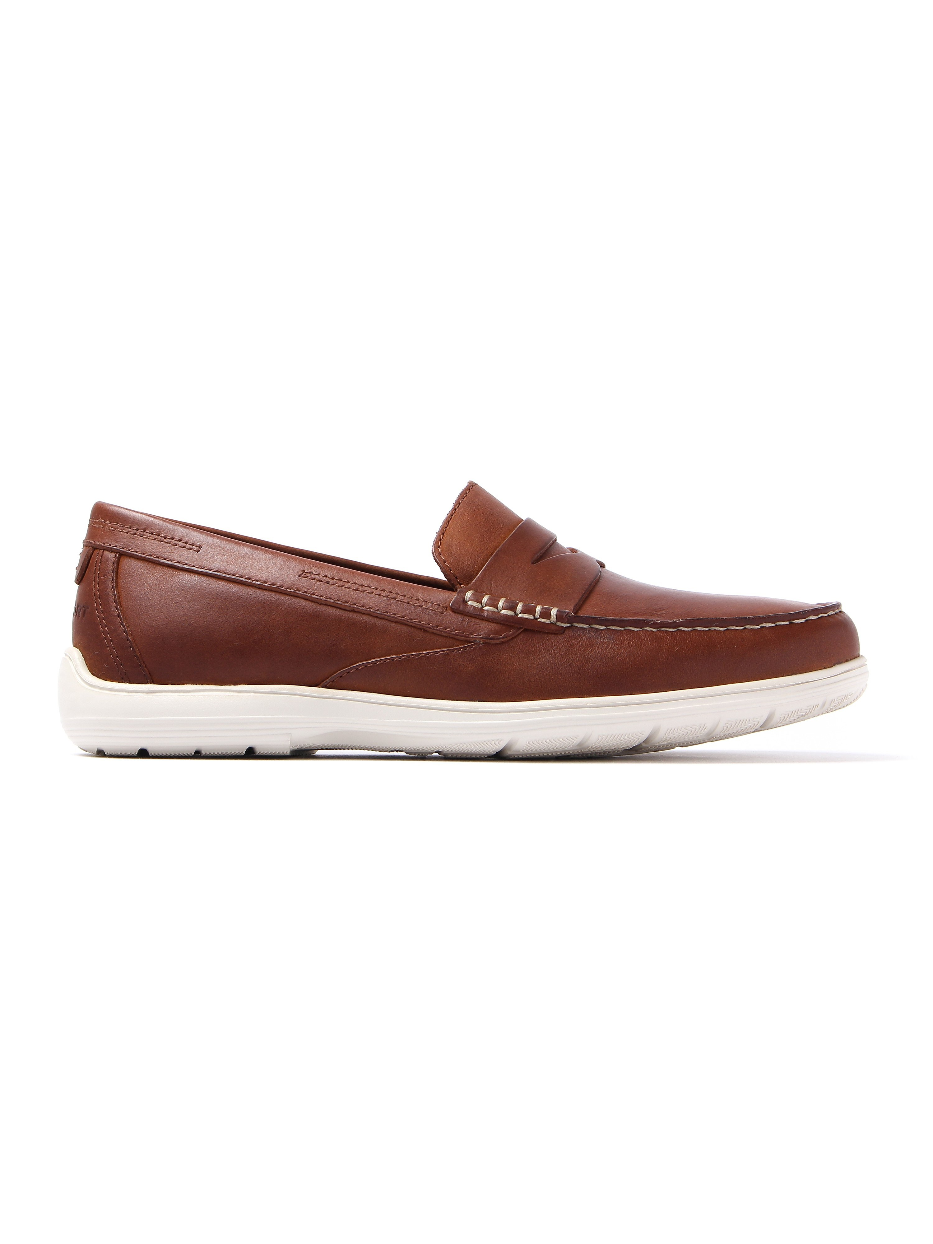 Rockport Men's Total Motion Nubuck Penny Loafers - Tan