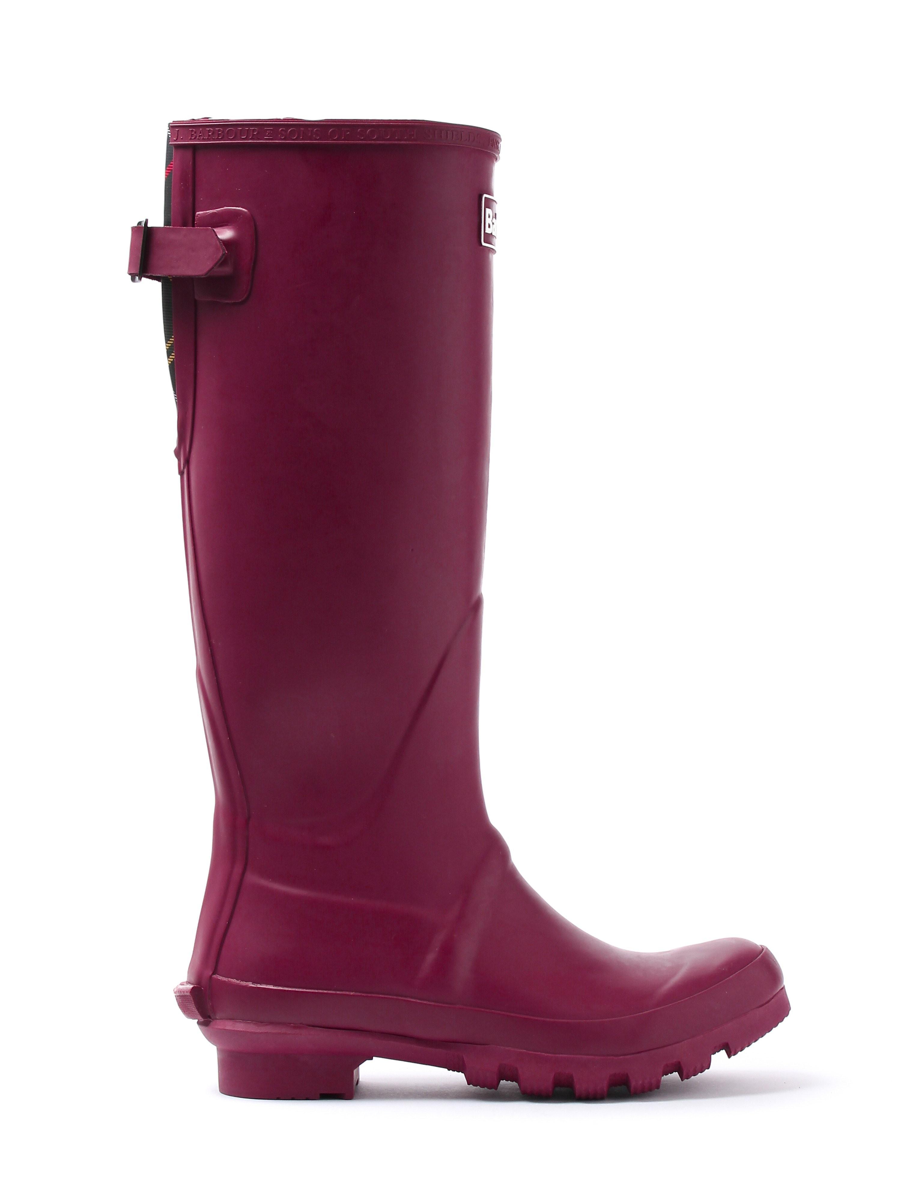 Barbour Women's Jarrow Wellington Boot - Burgundy
