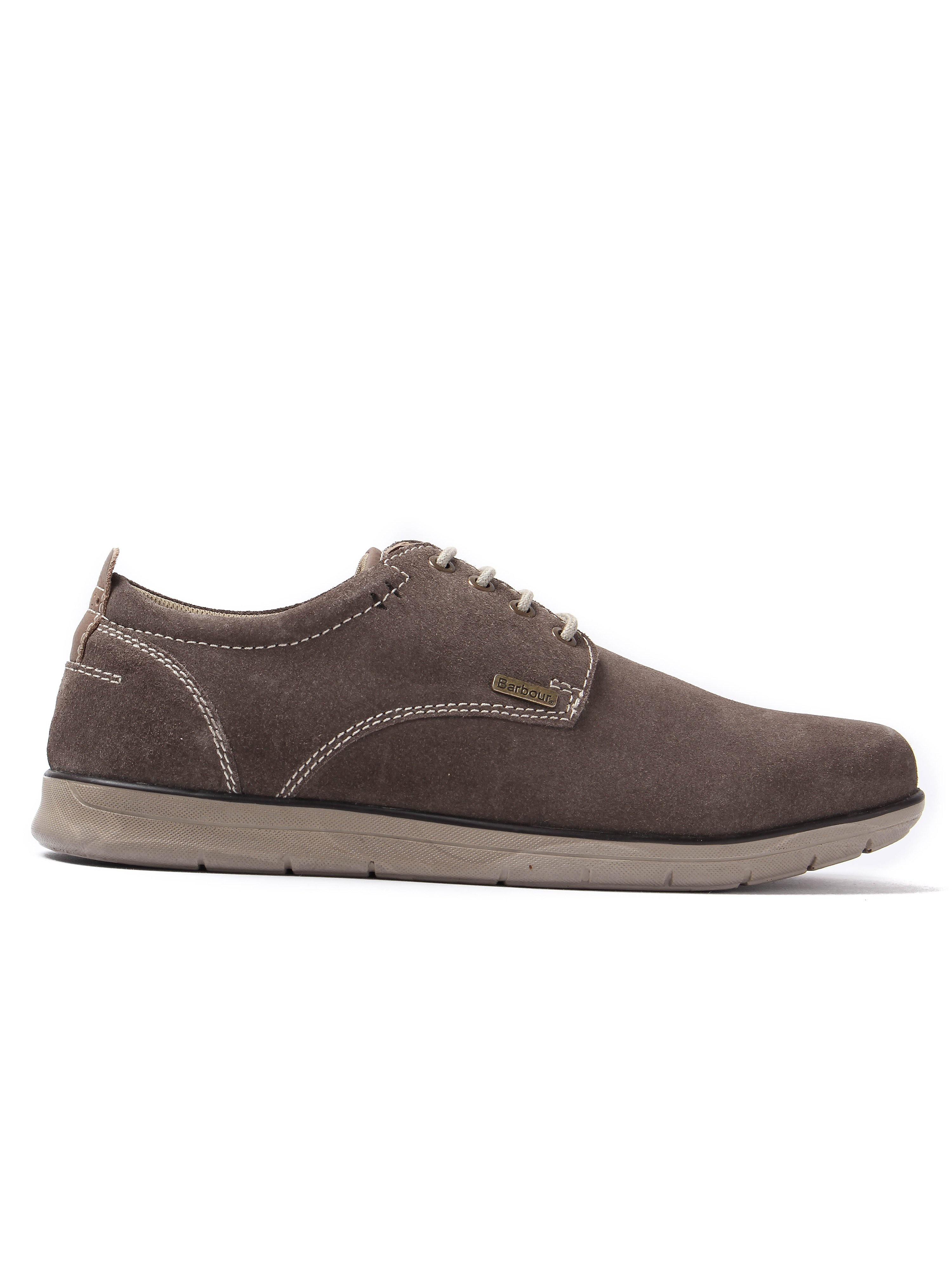 Barbour Men's Atkinson Chukka Shoes - Sand Nubuck
