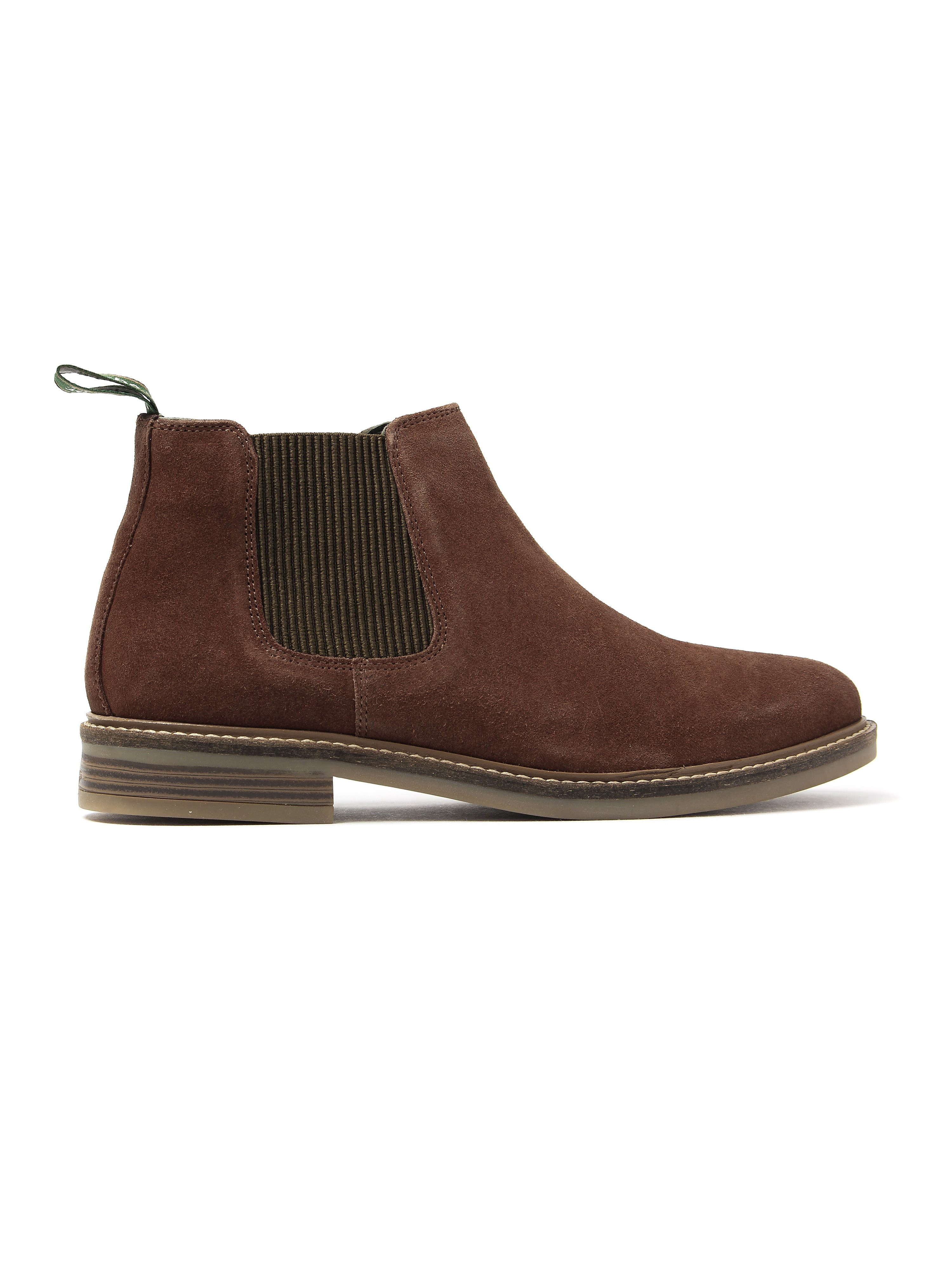 Barbour Men's Penshaw Suede Chelsea Boots - Rust