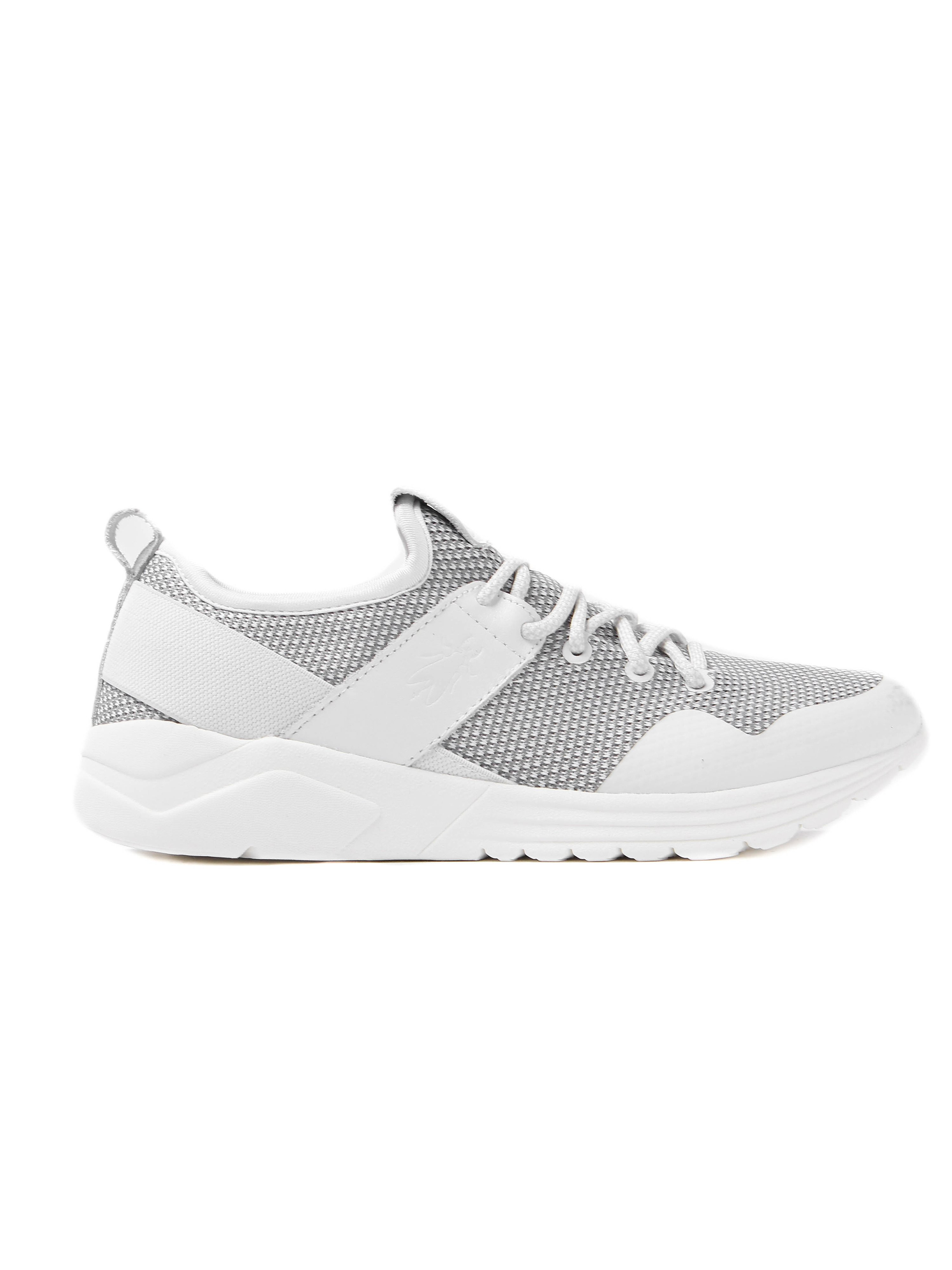 Fly London Women's Salo Knitted Slip On Trainers - Off White