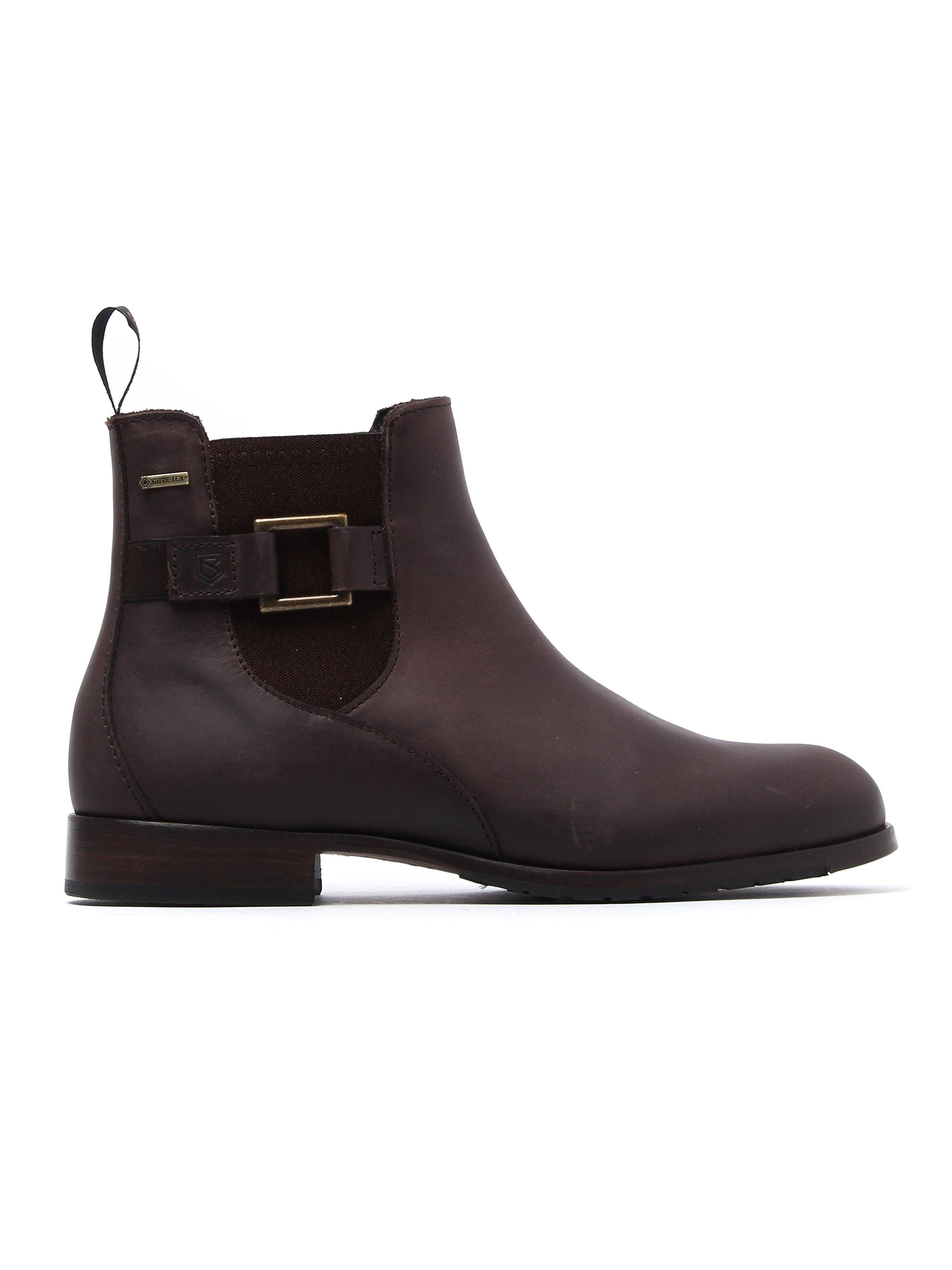 Dubarry Women's Monaghan Chelsea Boots - Old Rum Leather