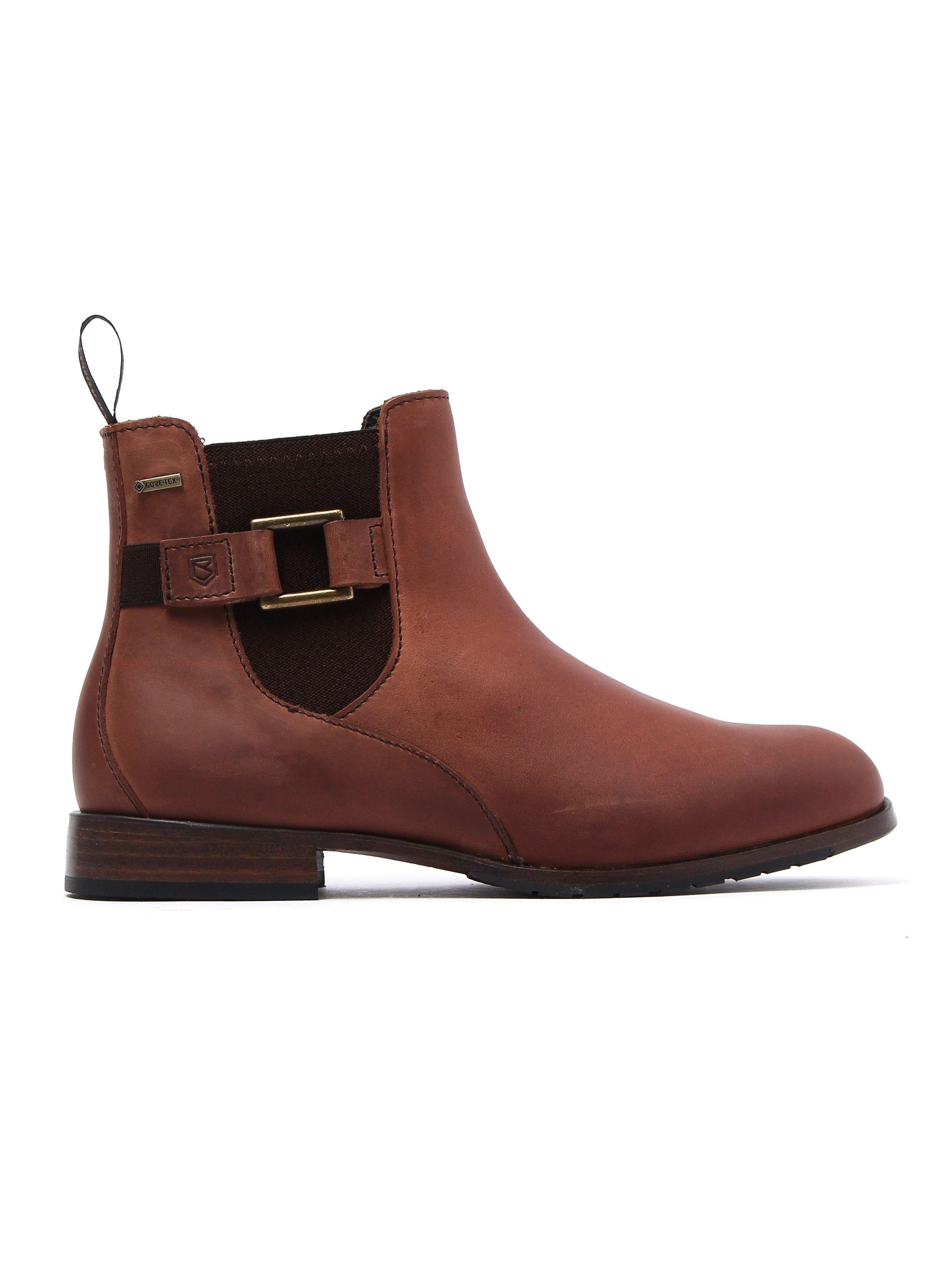 Dubarry Women's Monaghan Chelsea Boots - Chestnut Leather