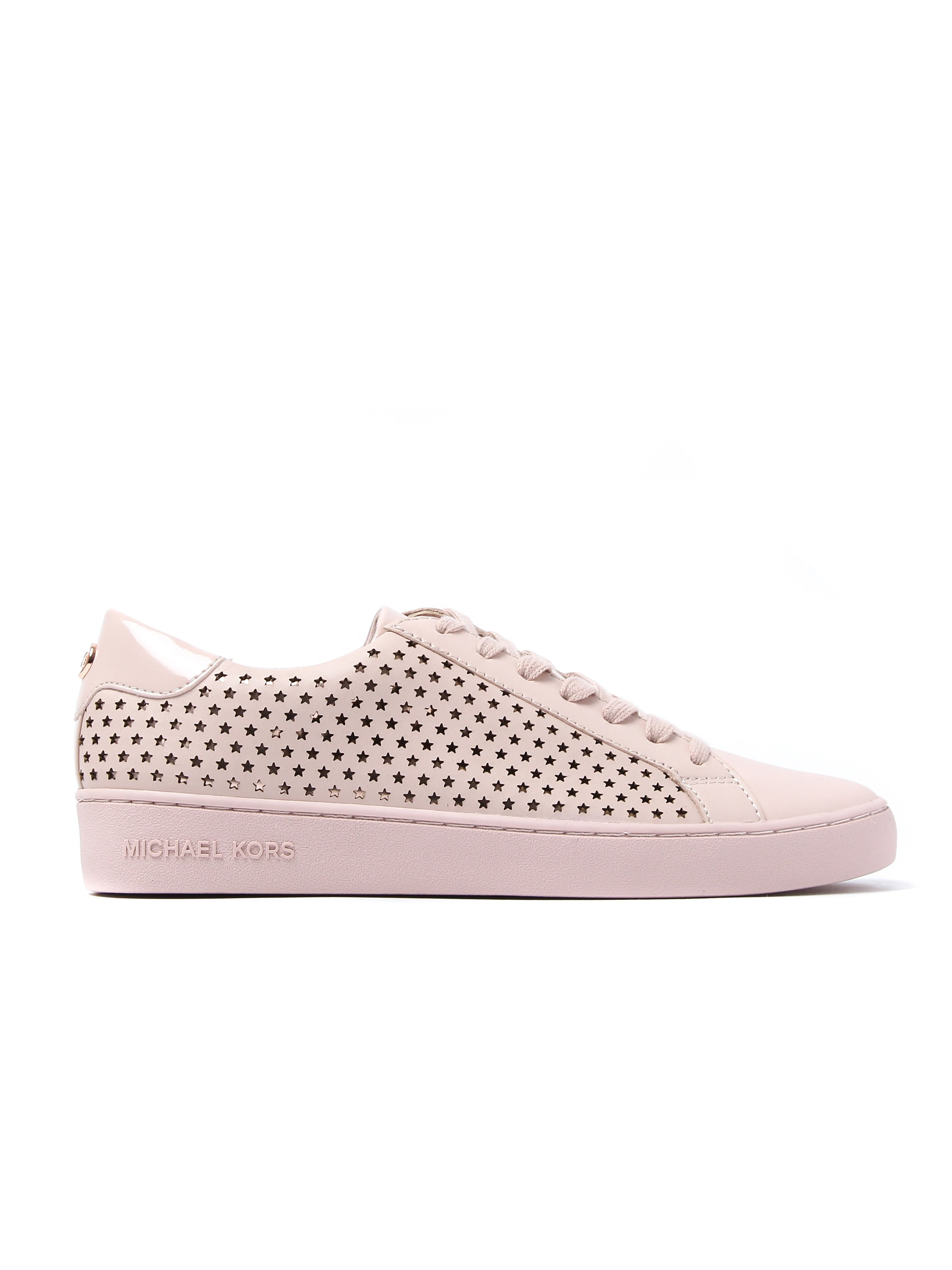 Michael Michael Kors Women's Irving Lace-Up Trainers - Soft Pink Leather