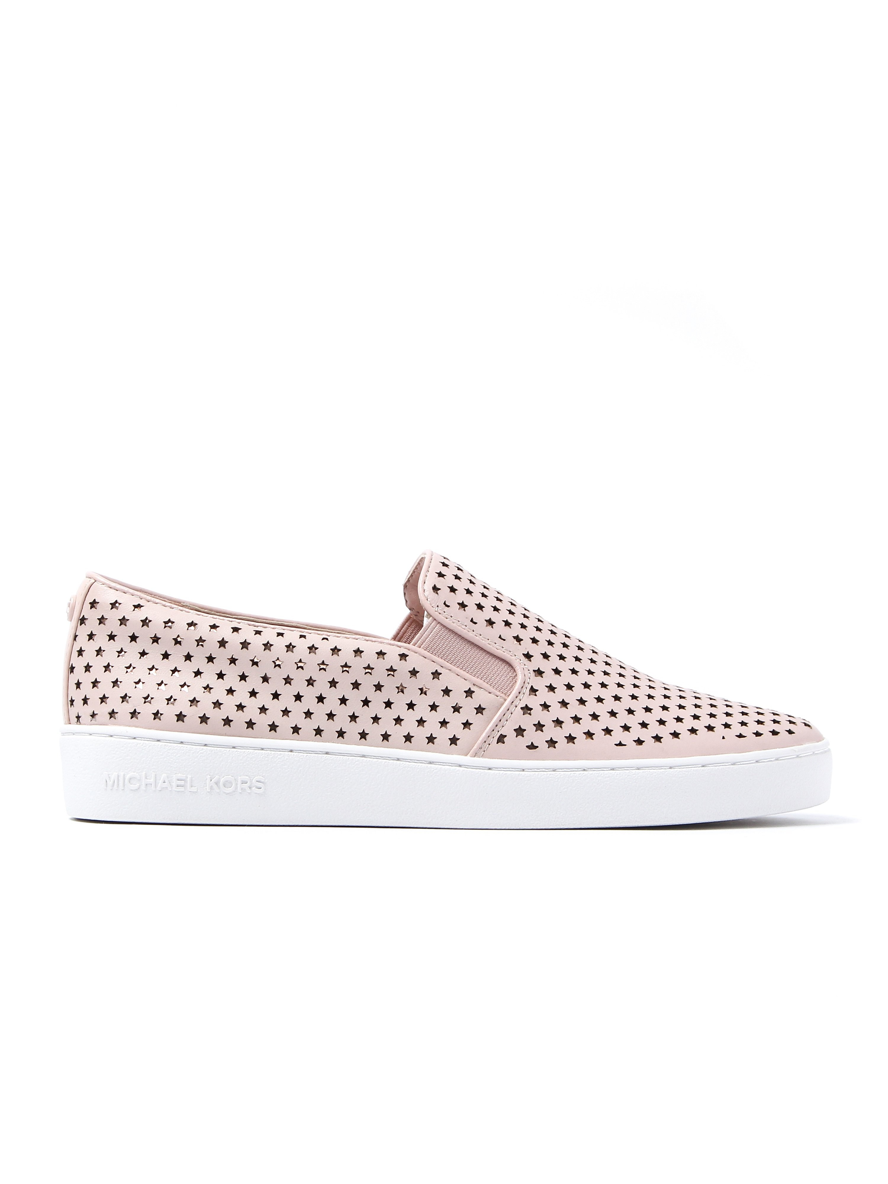 Michael Michael Kors Women's Keaton Slip On Trainers - Soft Pink Leather