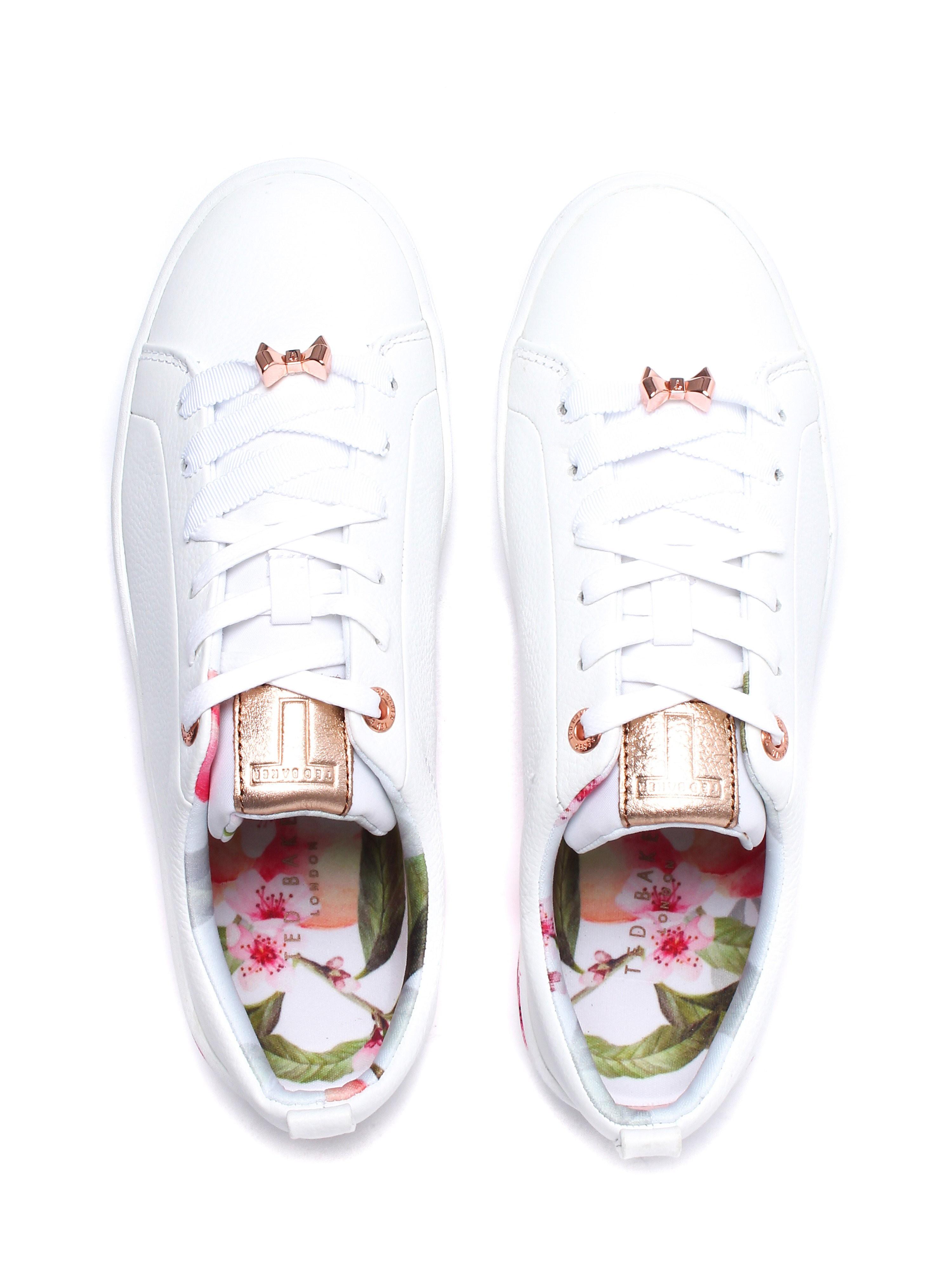 Ted Baker Women's Kelleip Trainers - White Blossom Leather