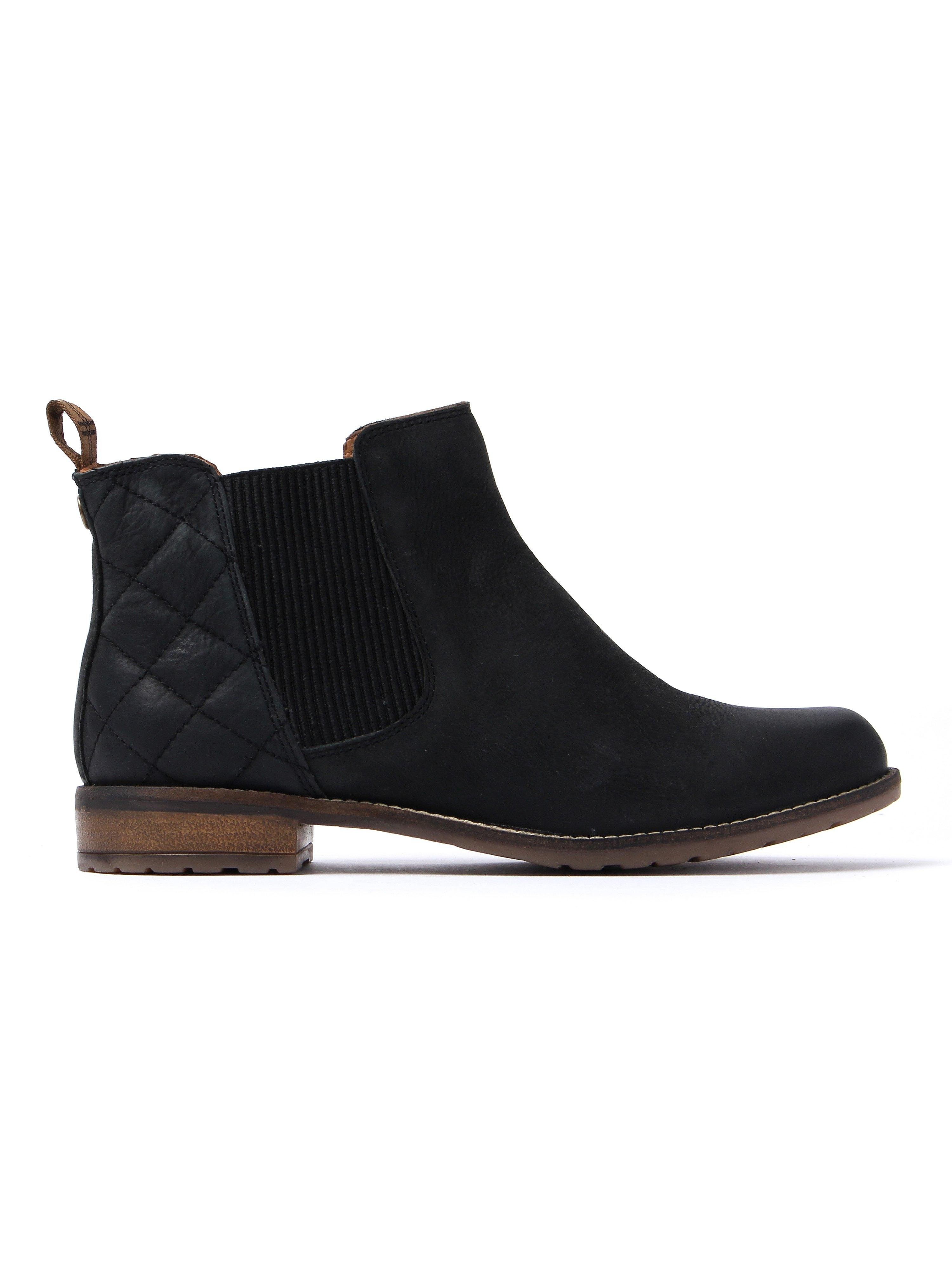 Barbour Women's Abigail Chelsea Boots - Black Leather