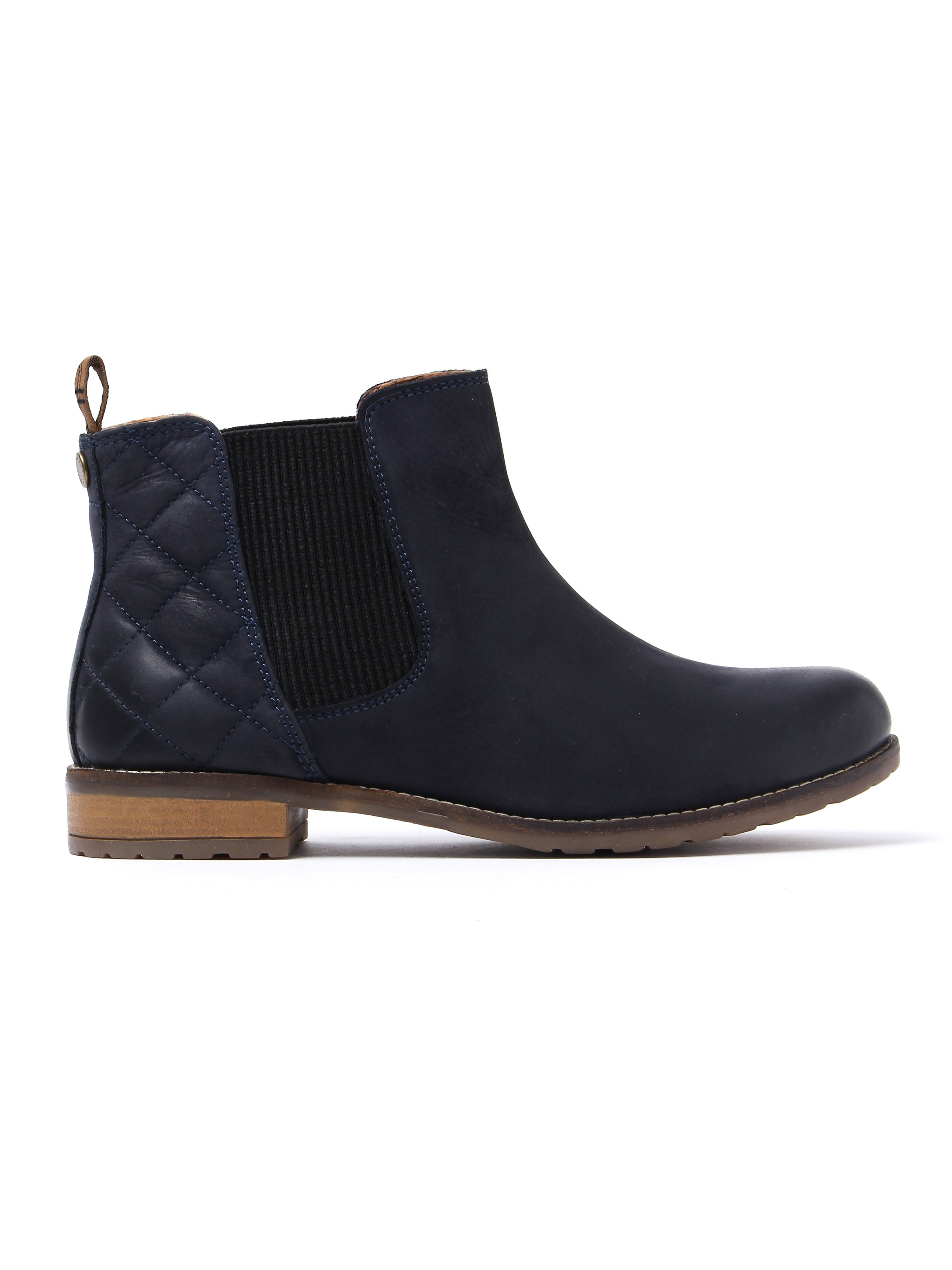 Barbour Women's Abigail Chelsea Boots - Navy Leather