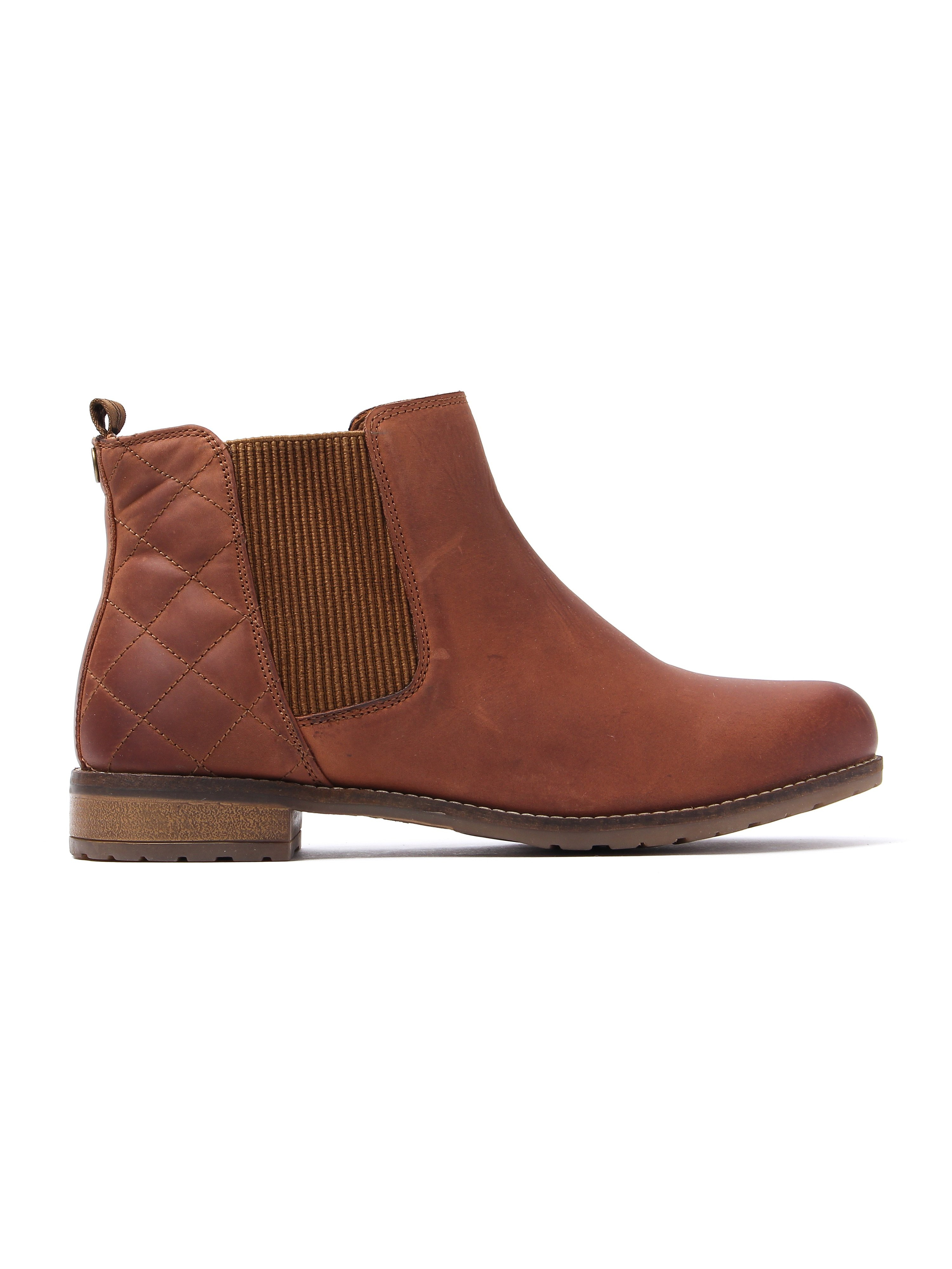 Barbour Women's Abigail Chelsea Boots - Cognac Leather