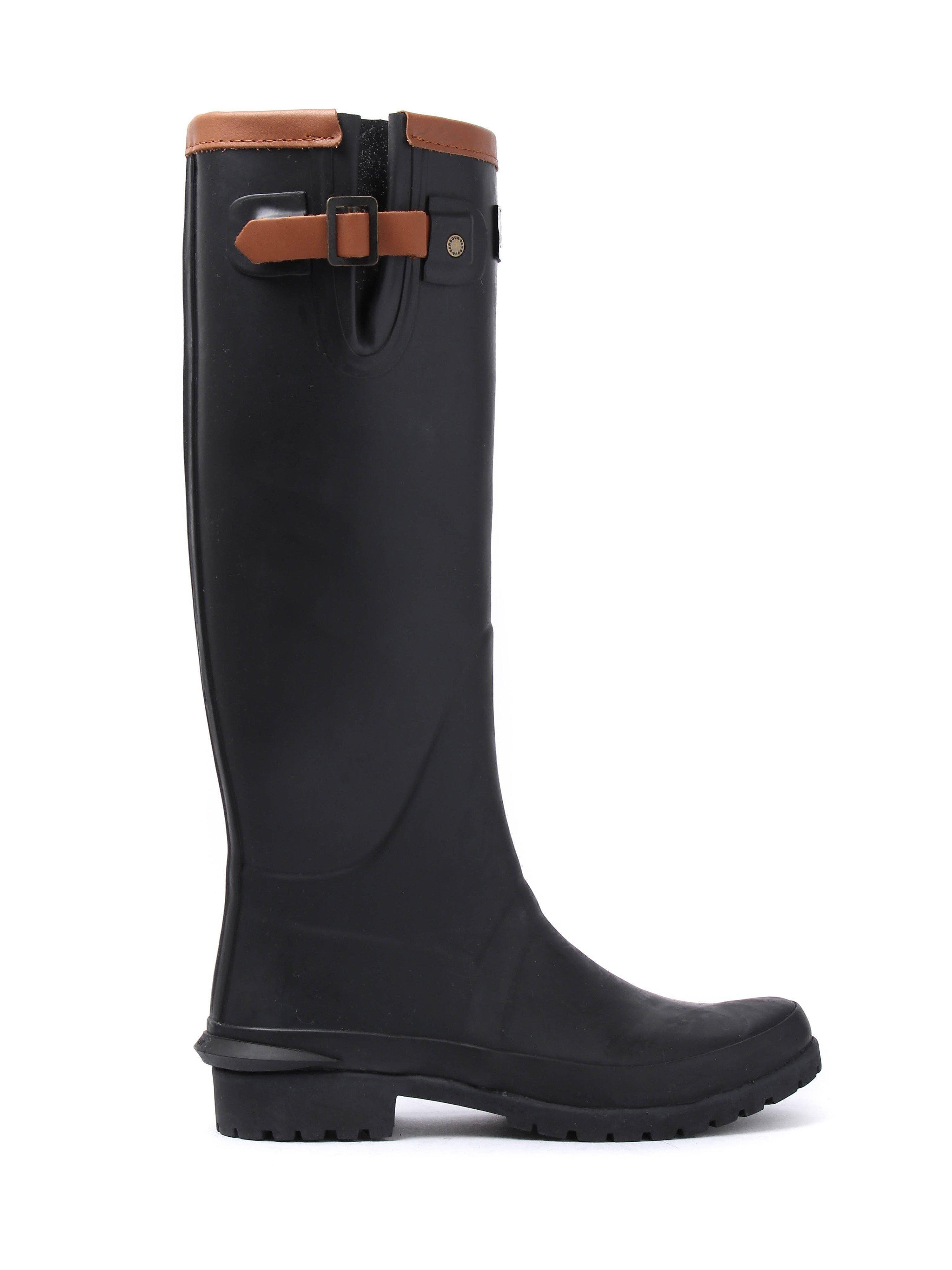 Barbour Women's Blyth Wellington Boots - Black
