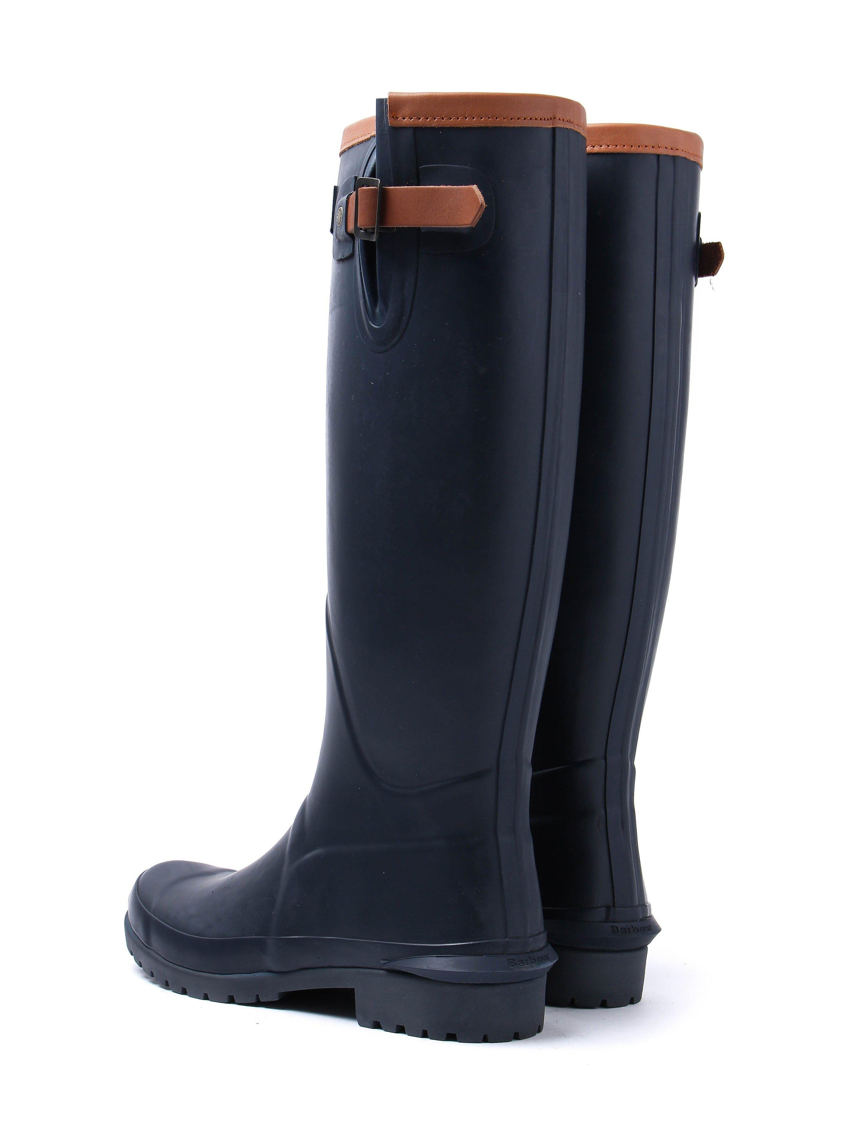 Barbour Women's Blyth Wellingtons Boots - Navy