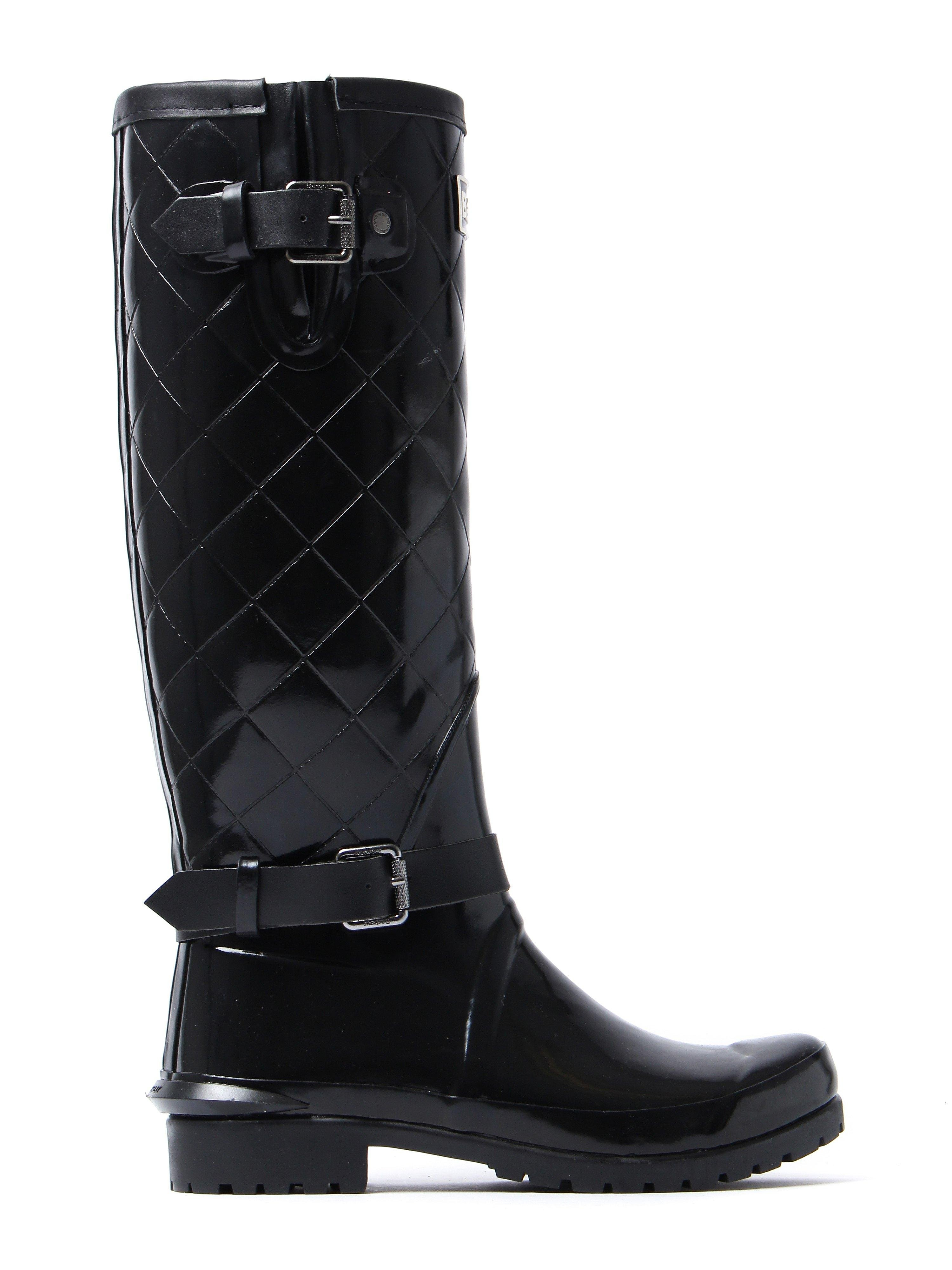 Barbour Women's Lindisfarne Wellington Boots - Black