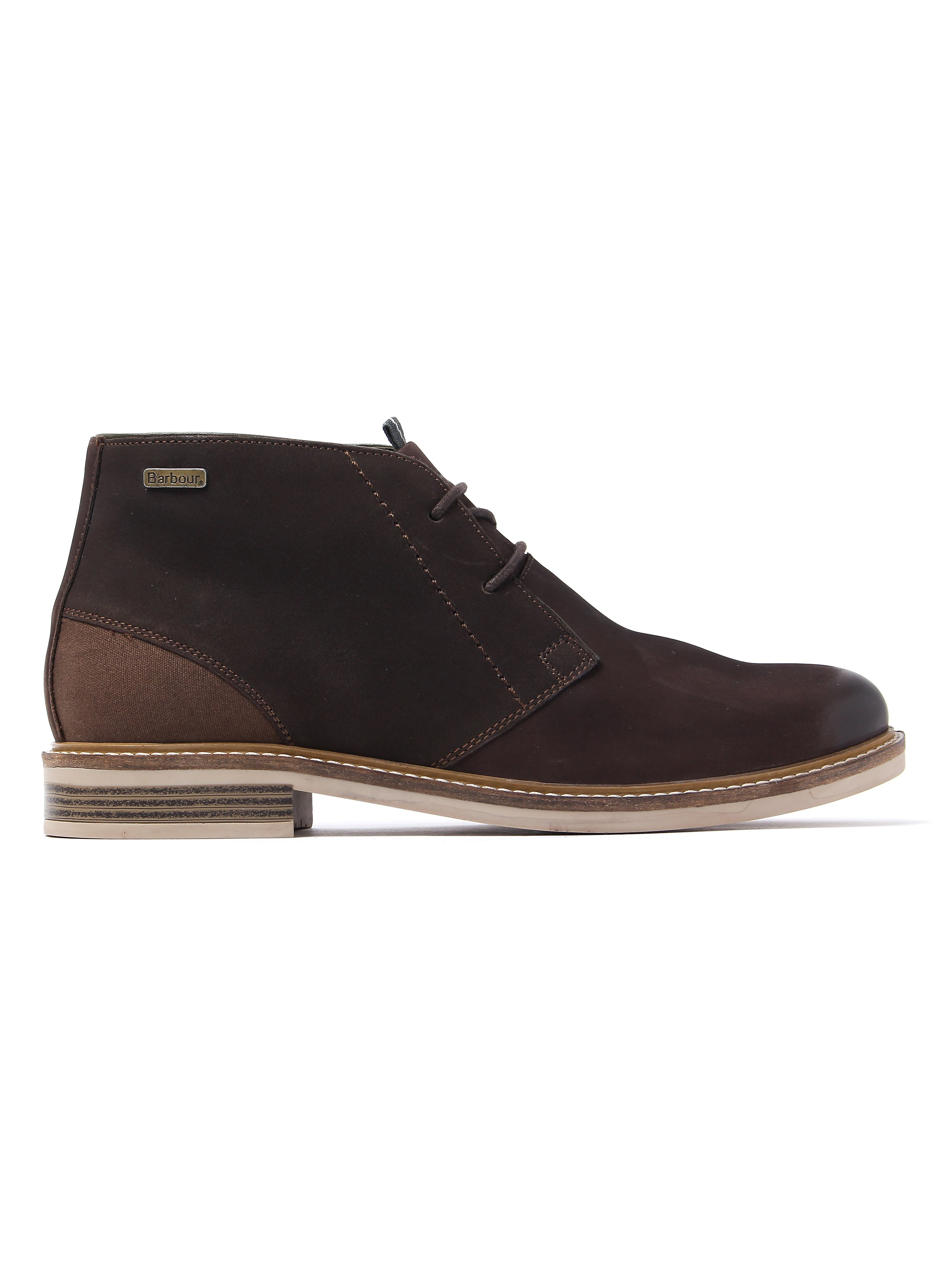 Barbour Men's Readhead Chukka Boots - Light Dark Brown Nubuck