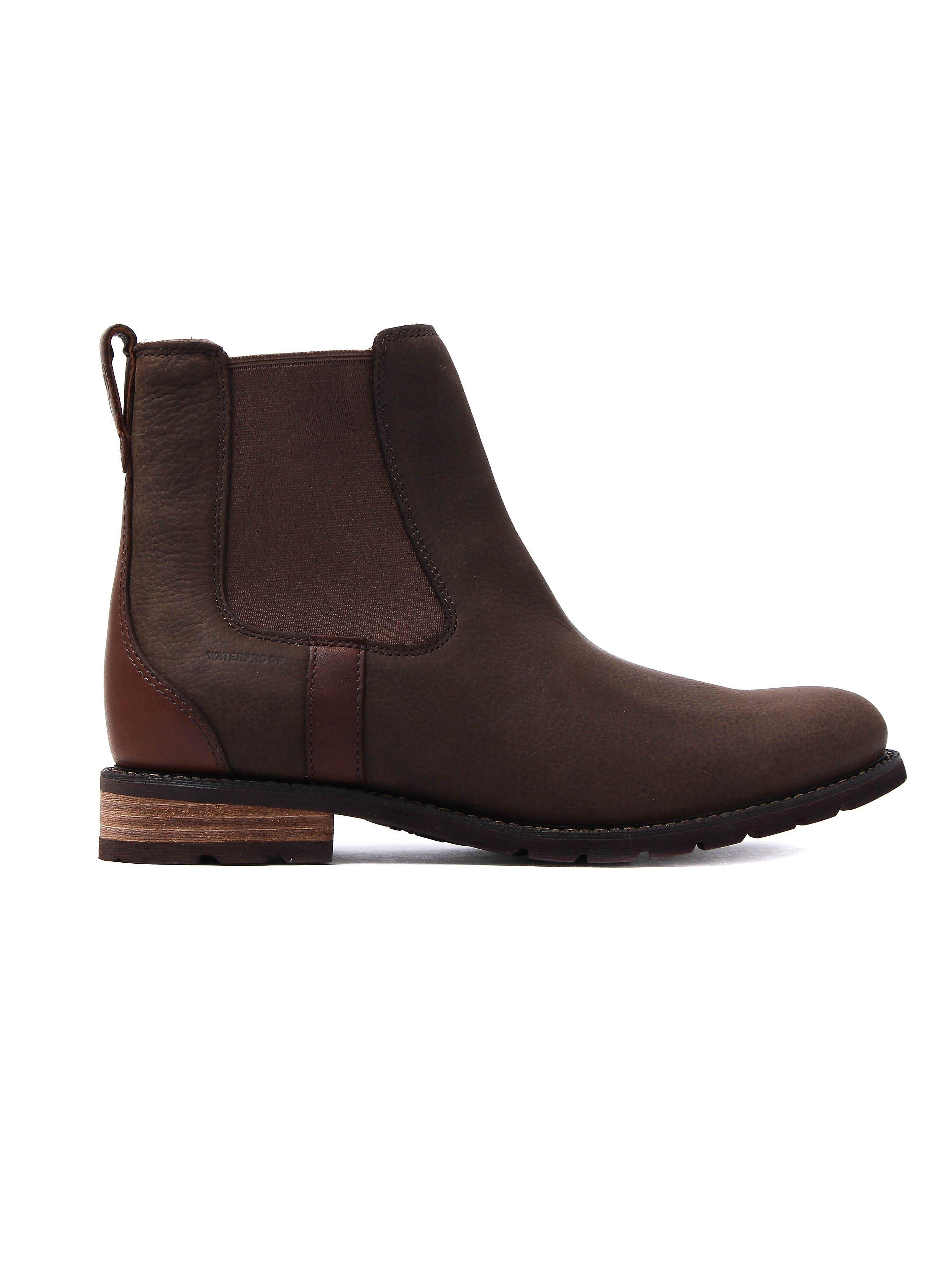 Ariat Women's Wexford H2O Leather Chelsea Boots - Java