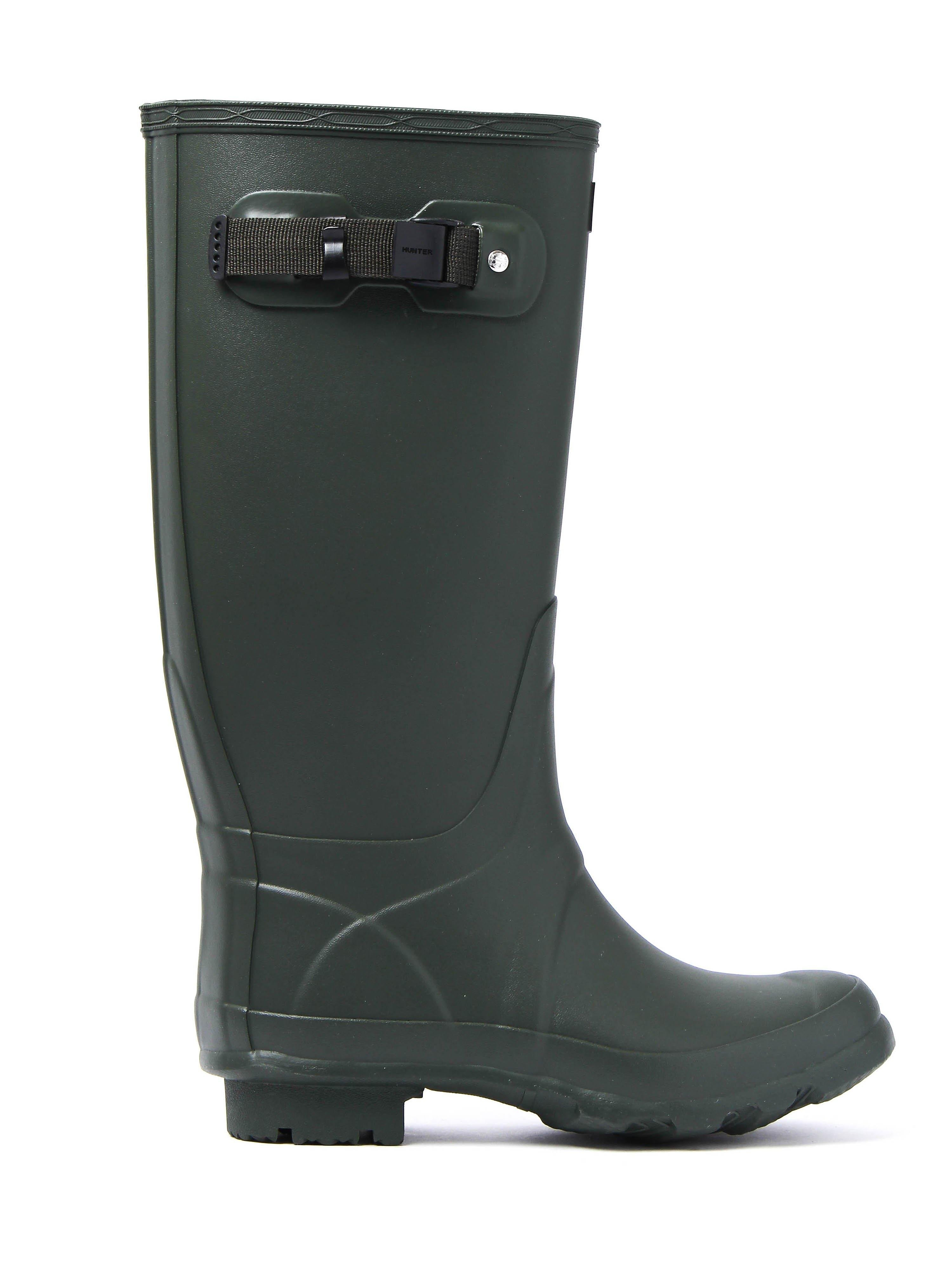 Hunter Wellies Women's Huntress Tall Wellington Boots - Olive