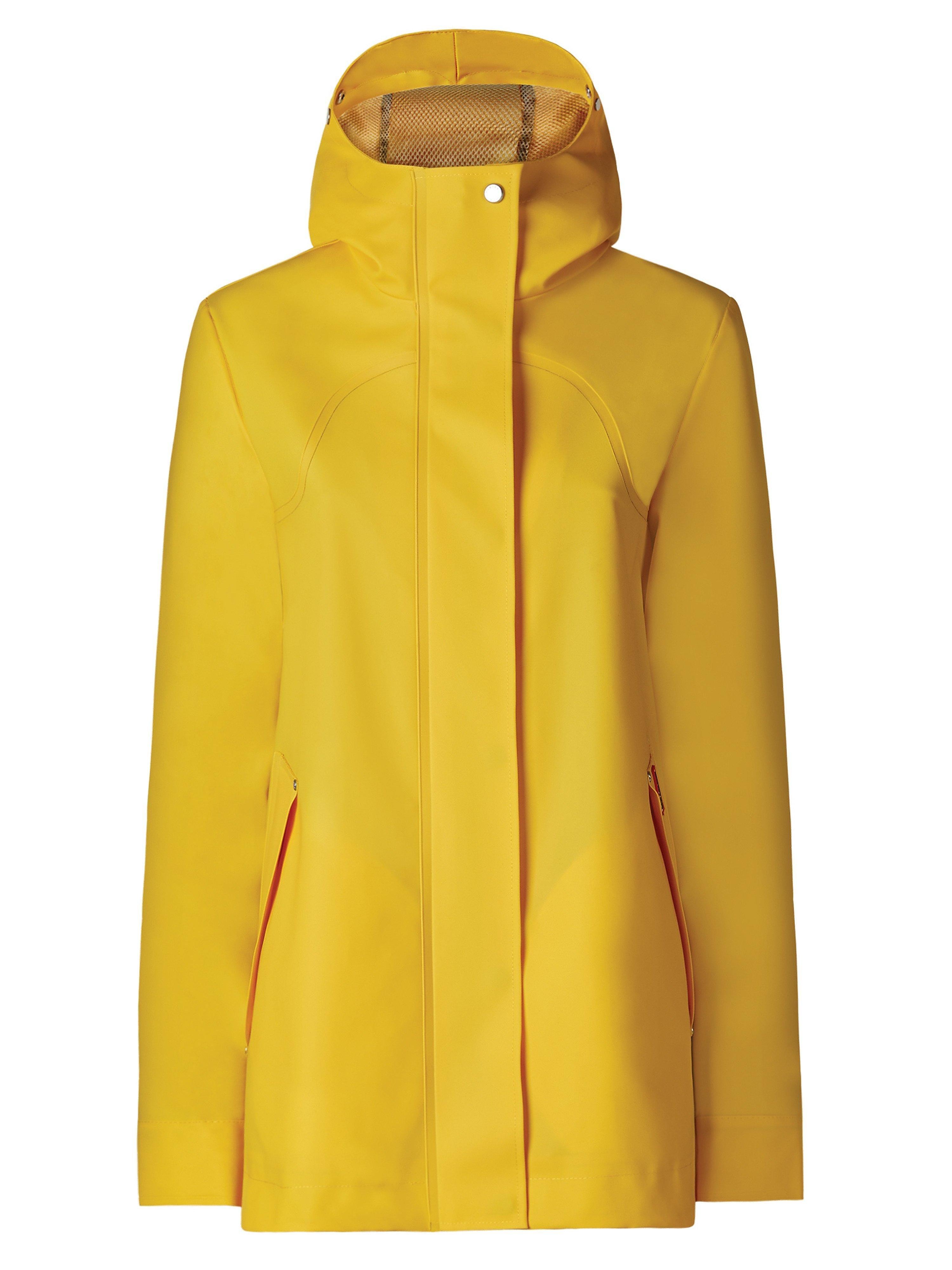 Hunter Wellies Women's Original Rubberised Smock - Yellow