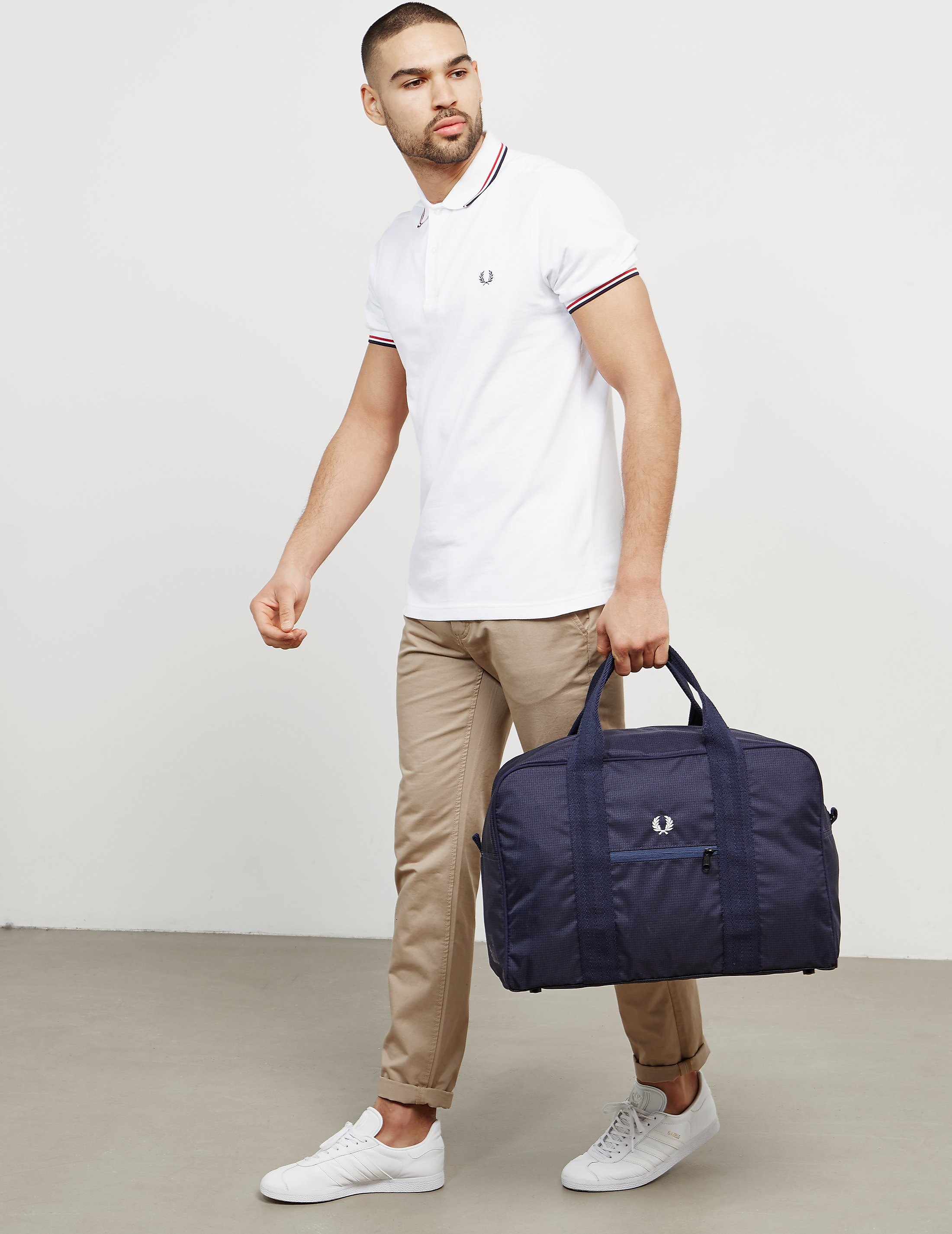 Fred Perry Twill Check Holdall