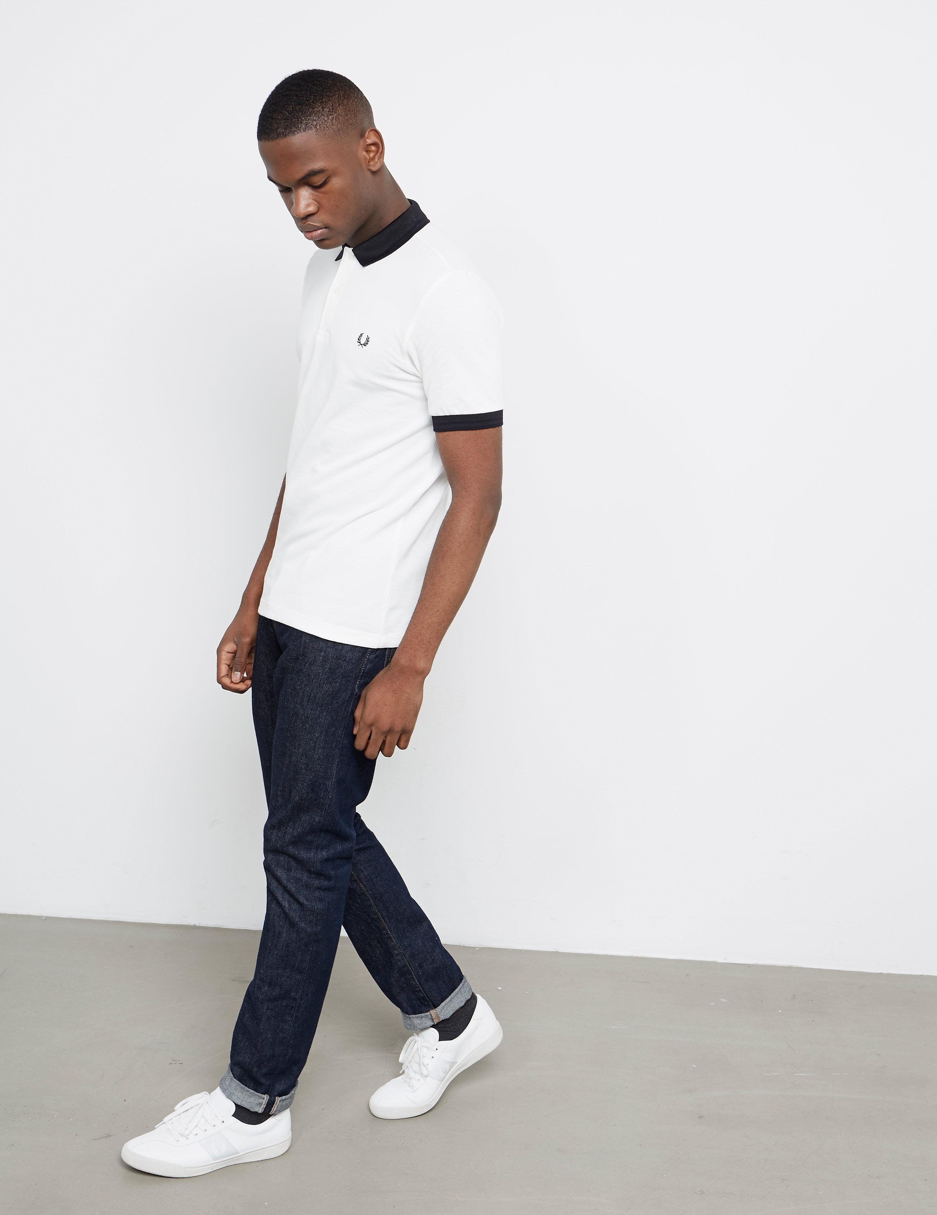 Fred Perry Matt Tip Short Sleeve Polo Shirt