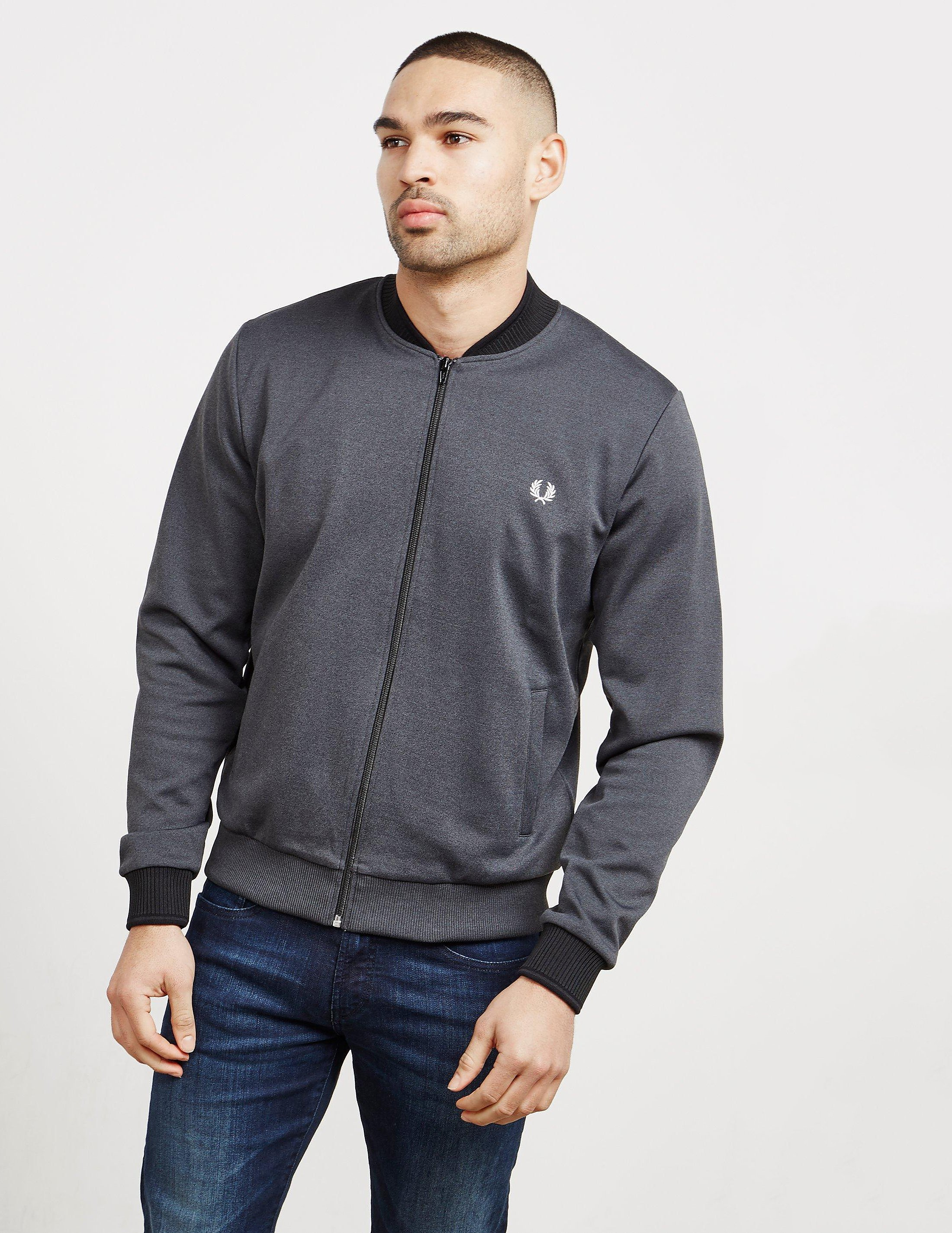 Fred Perry Tipped Bomber Track Top