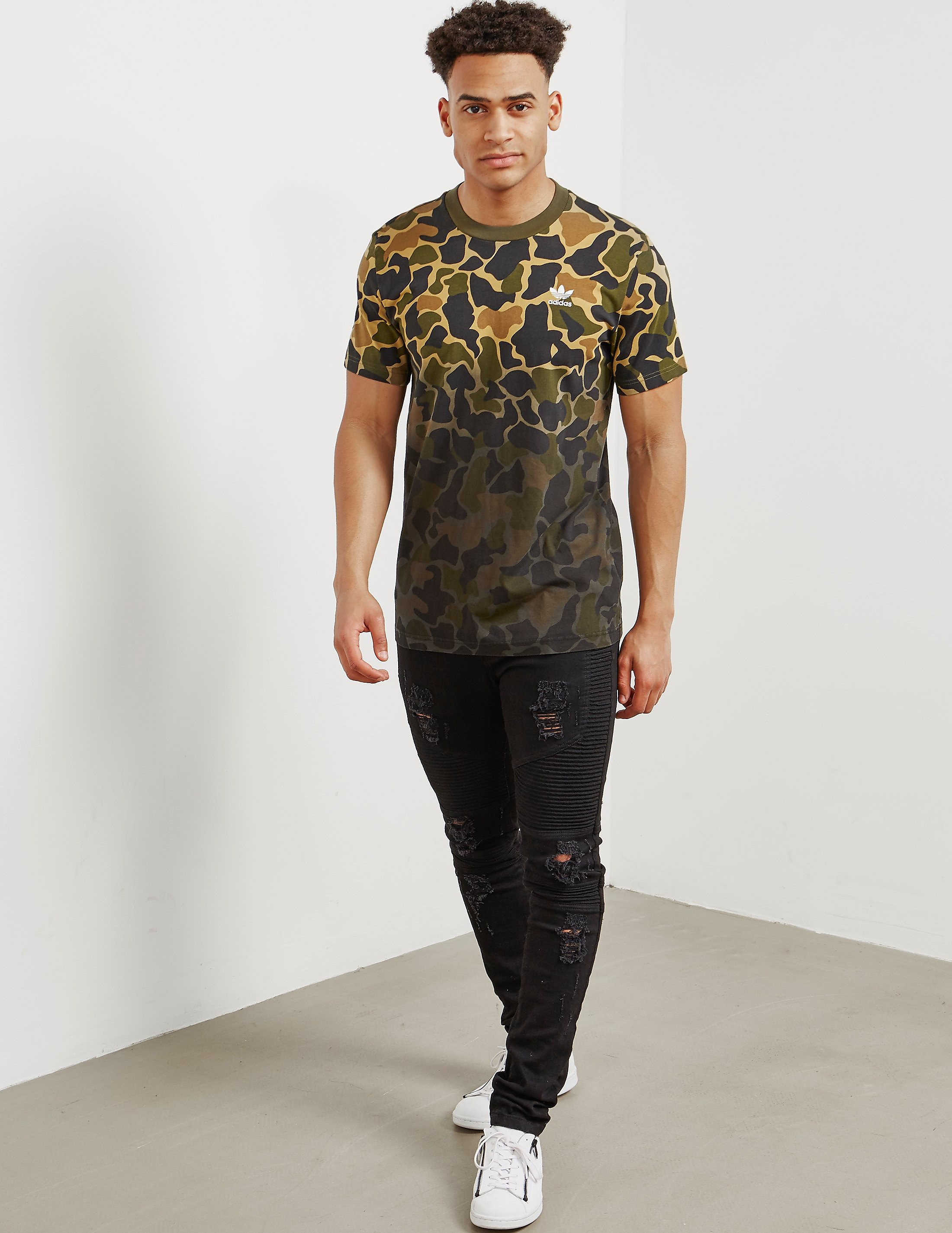 adidas Originals Camo Short Sleeve T-Shirt