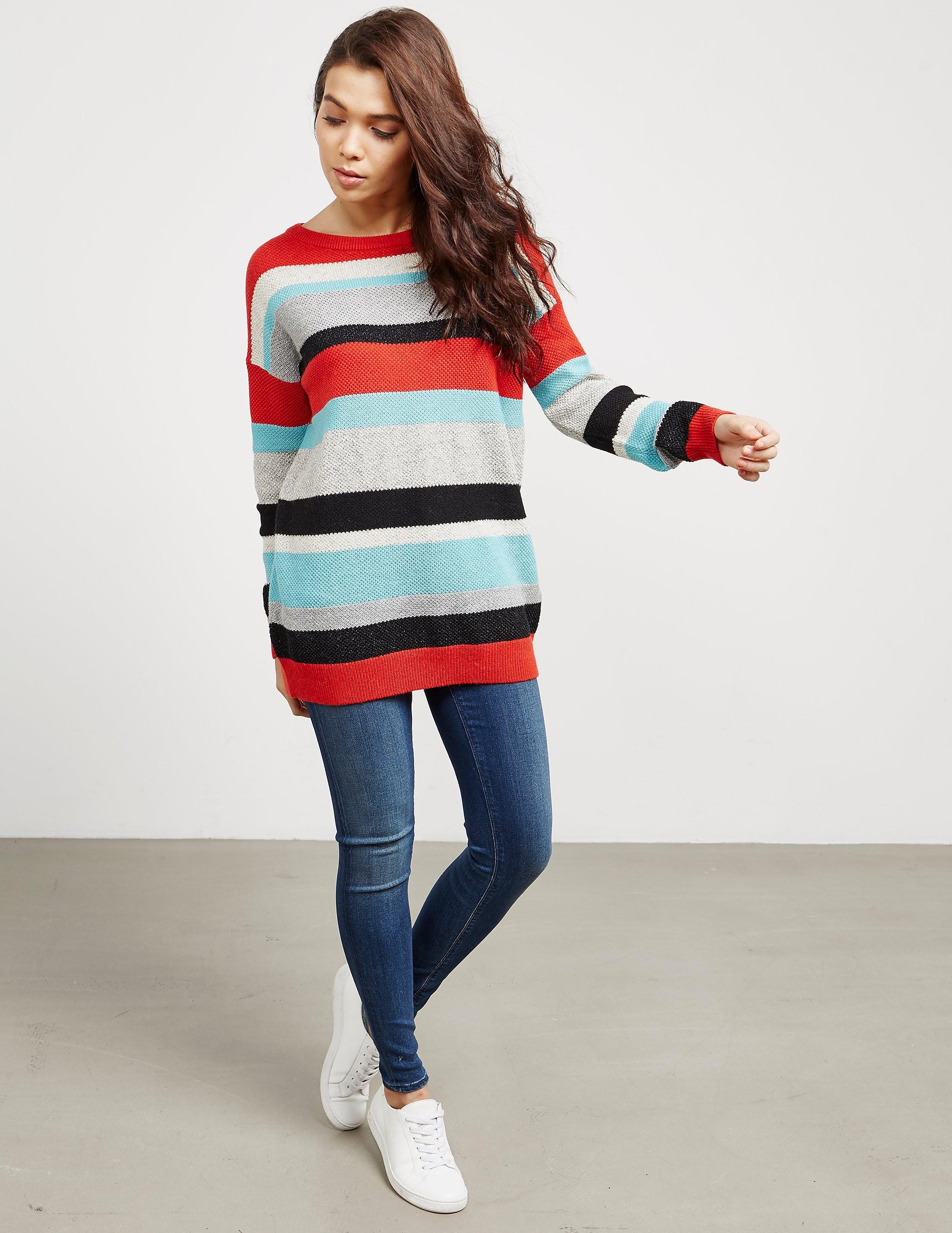 BOSS Colour Block Knit Jumper