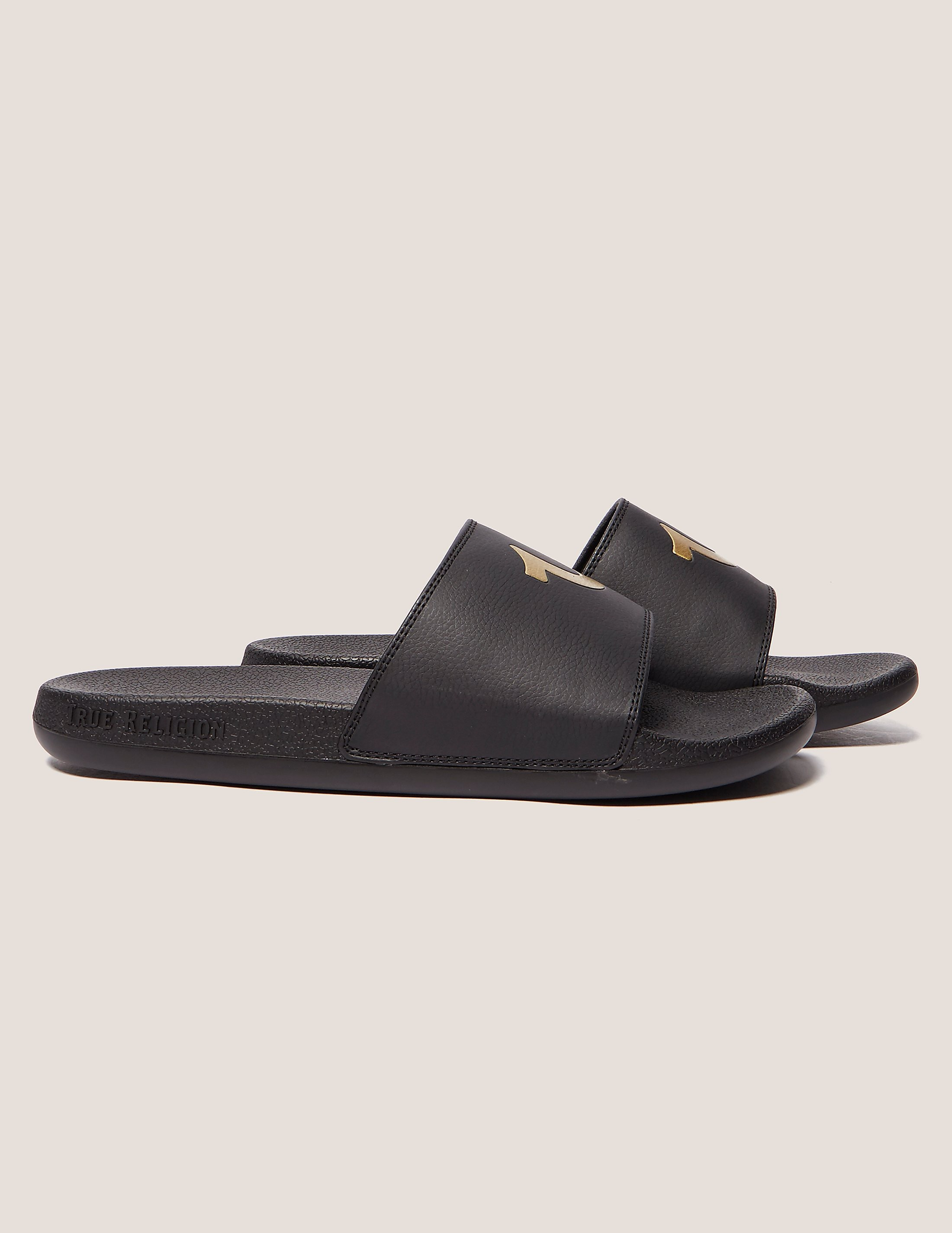 True Religion Horseshoe Slides