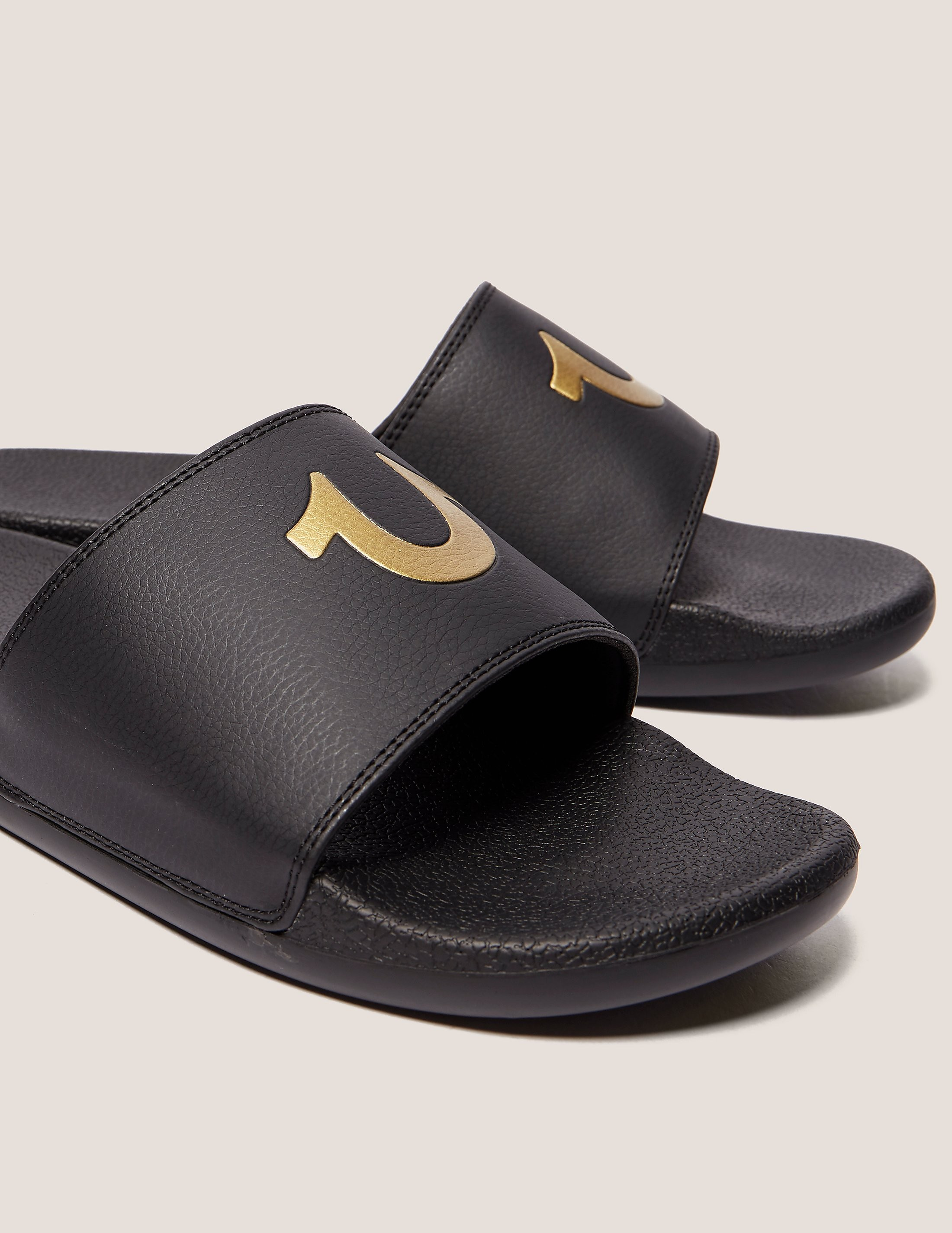 True Religion Horseshoe Slides