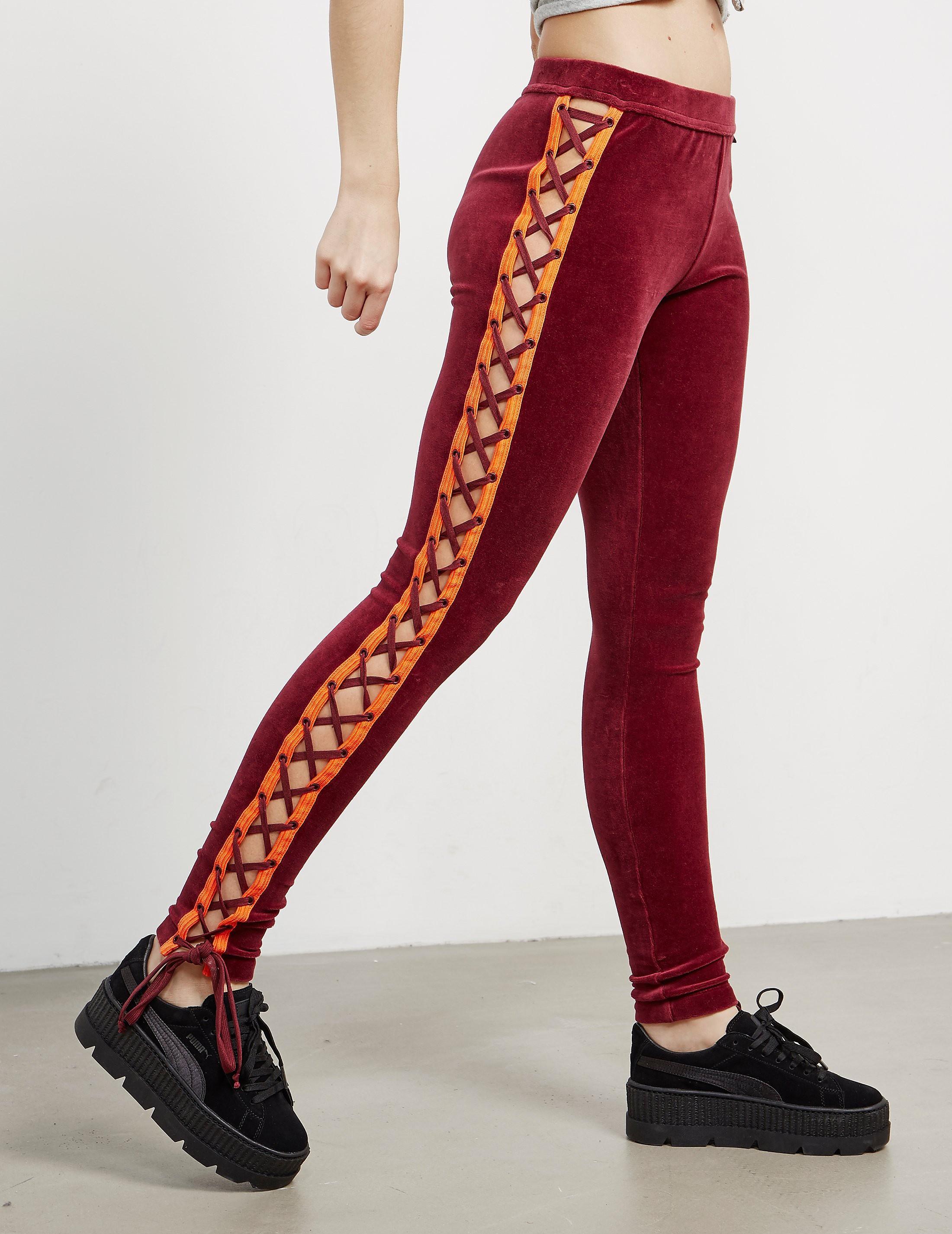 PUMA x Fenty Velour Leggings
