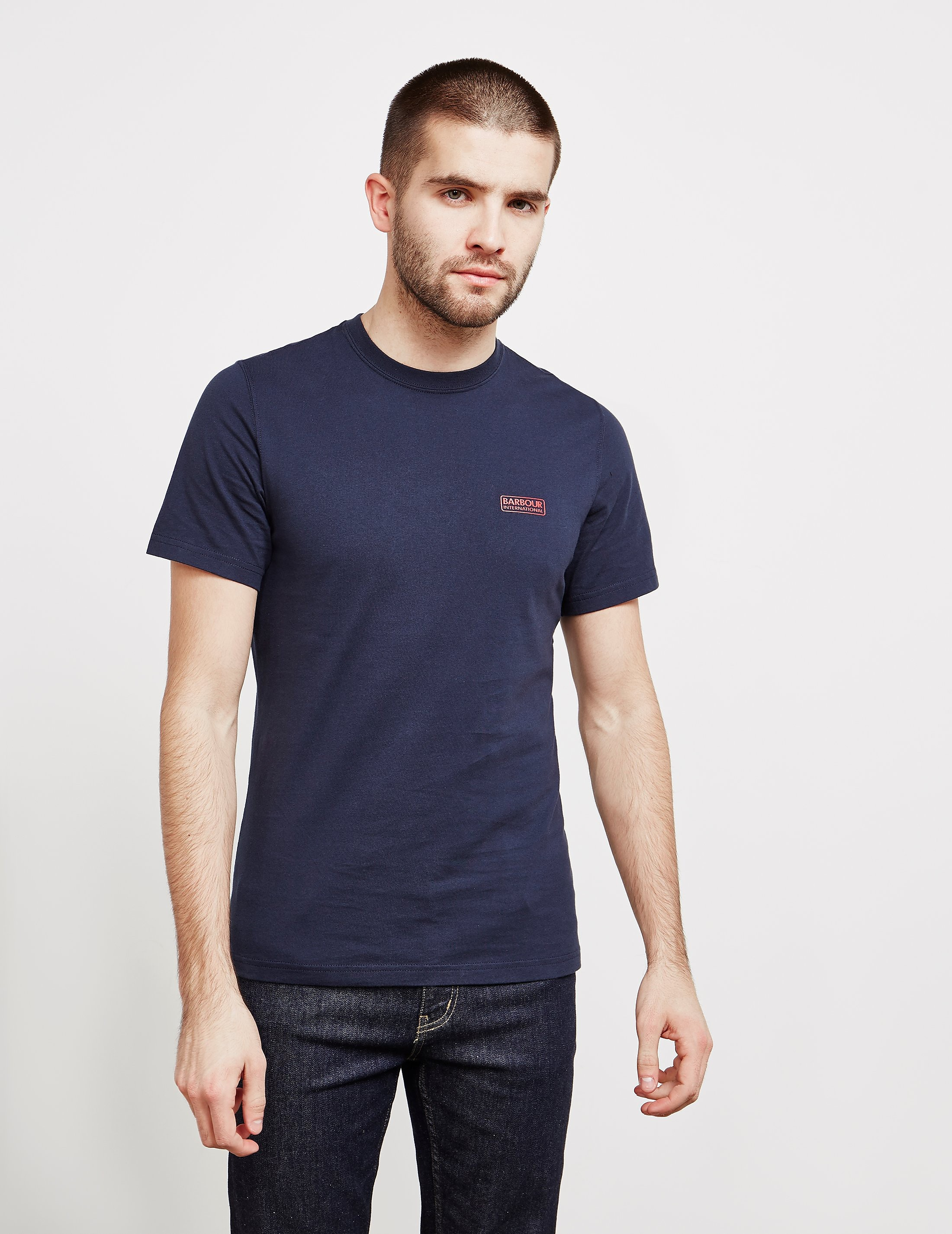 Barbour T-Shirt International Small Logo